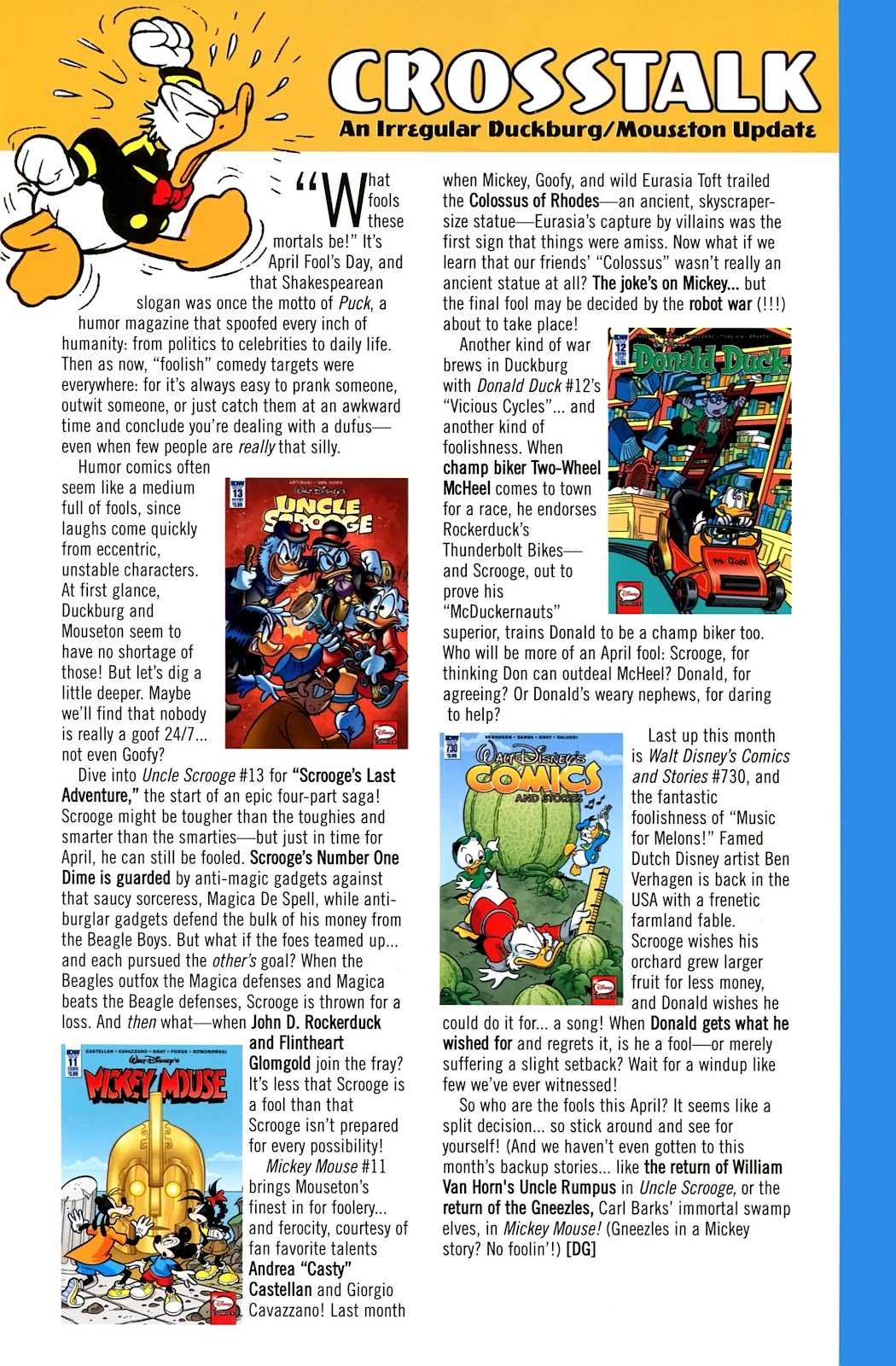 Walt Disney's Comics and Stories issue 730 - Page 41