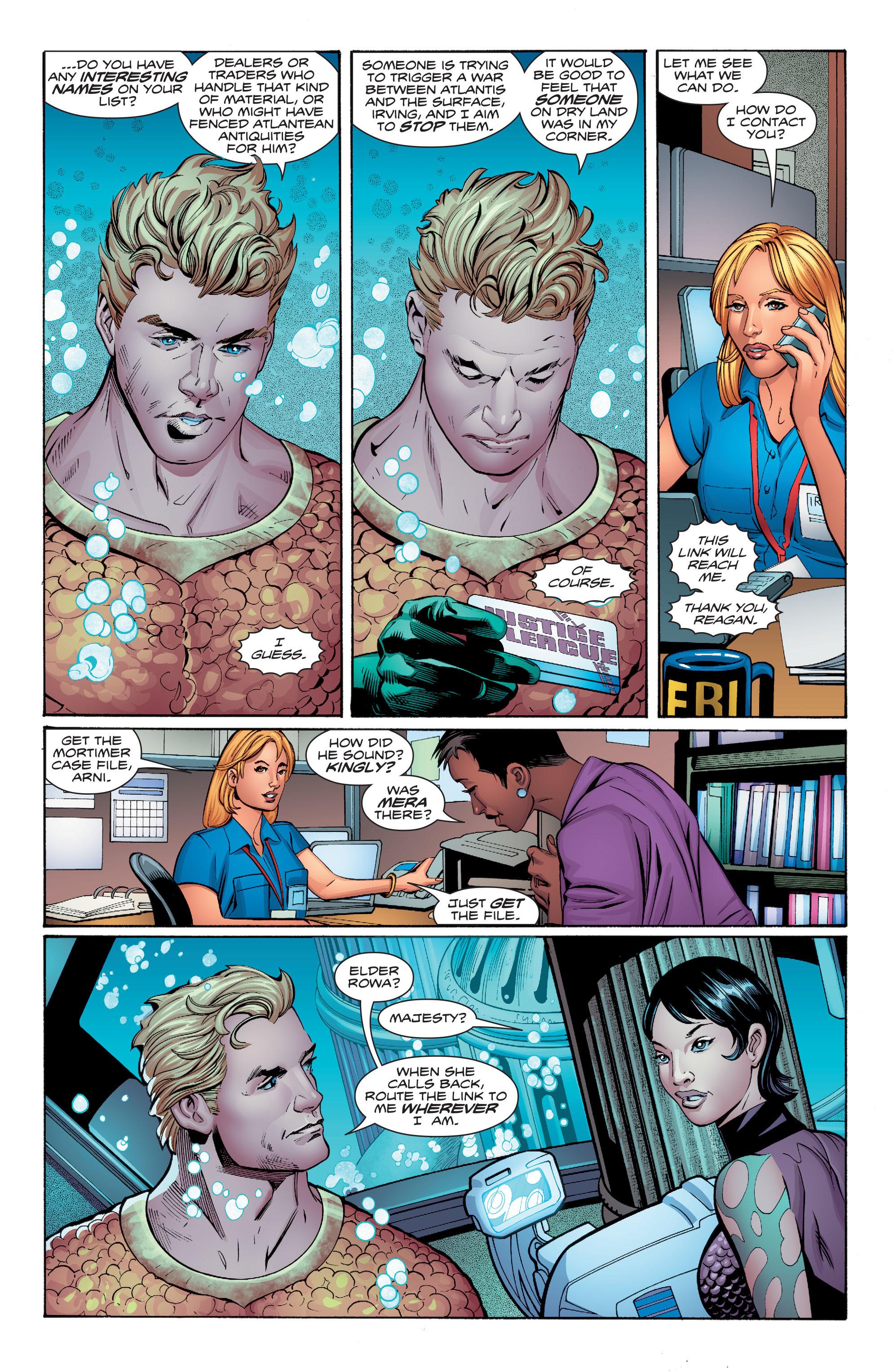 Read online Aquaman (2016) comic -  Issue #7 - 20