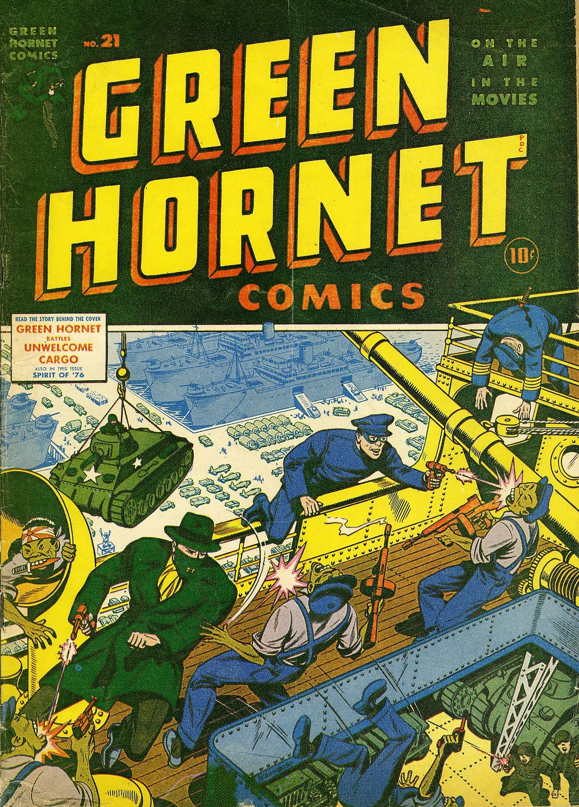 Green Hornet Comics issue 21 - Page 1