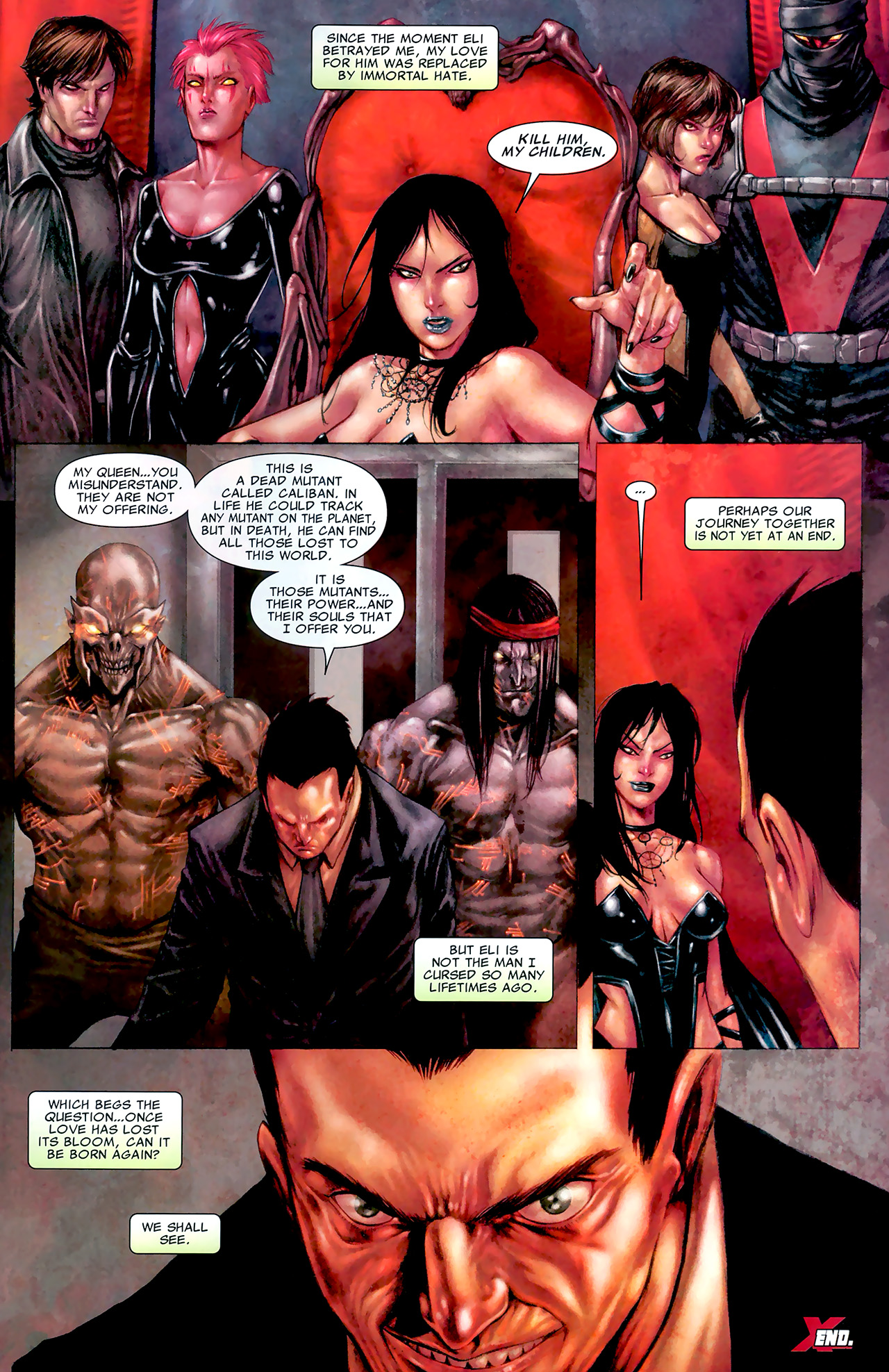 Read online X Necrosha: The Gathering comic -  Issue # Full - 42