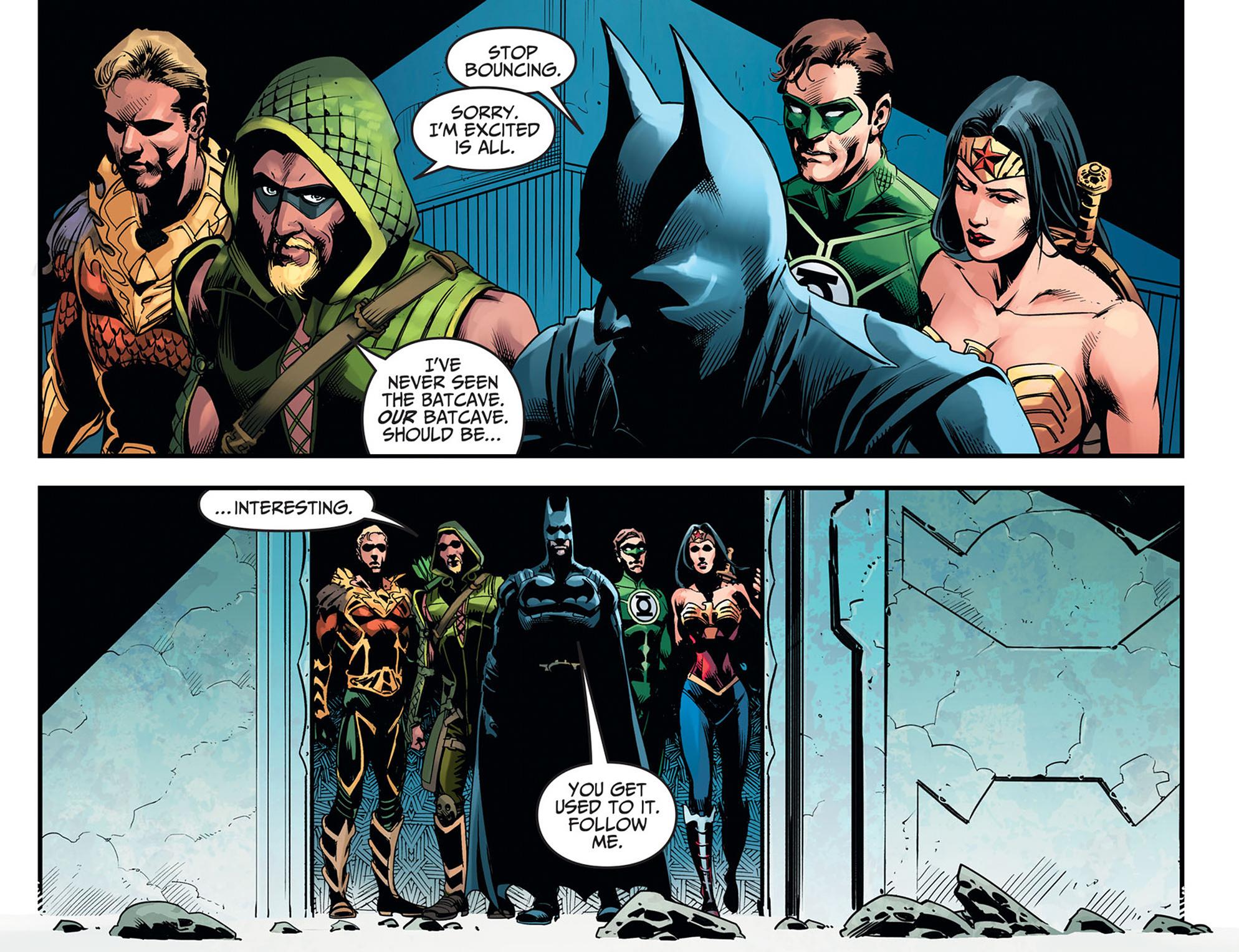 Read online Injustice: Ground Zero comic -  Issue #11 - 12