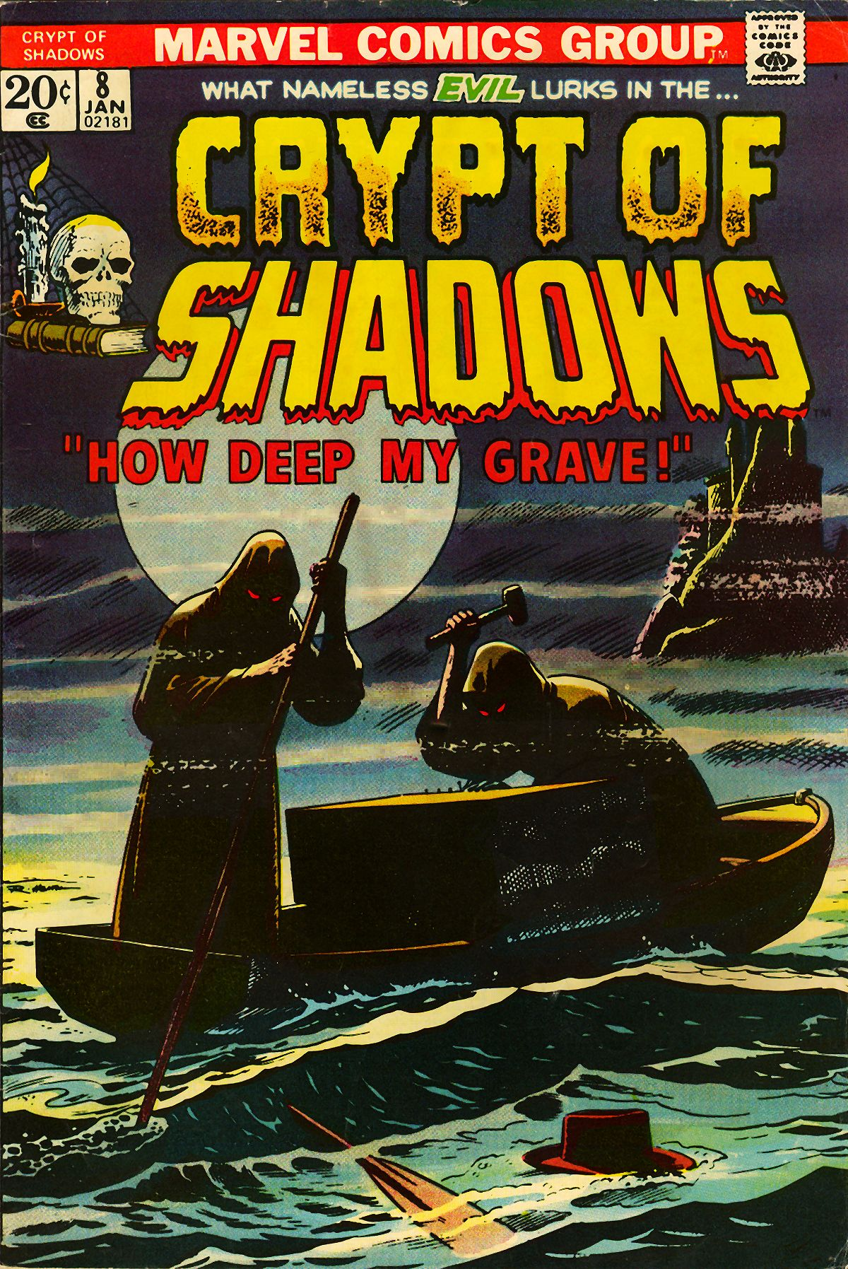 Read online Crypt of Shadows comic -  Issue #8 - 1