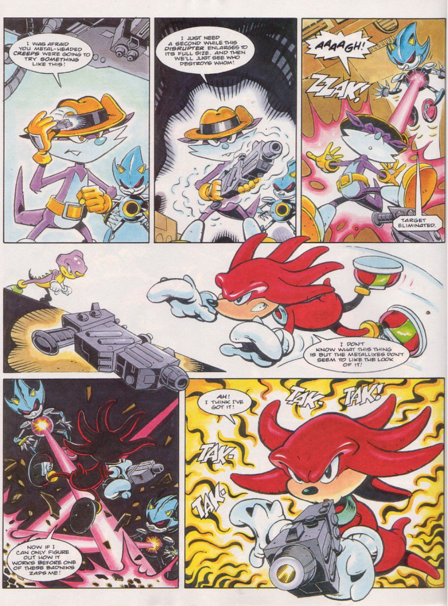 Read online Sonic the Comic comic -  Issue #58 - 19
