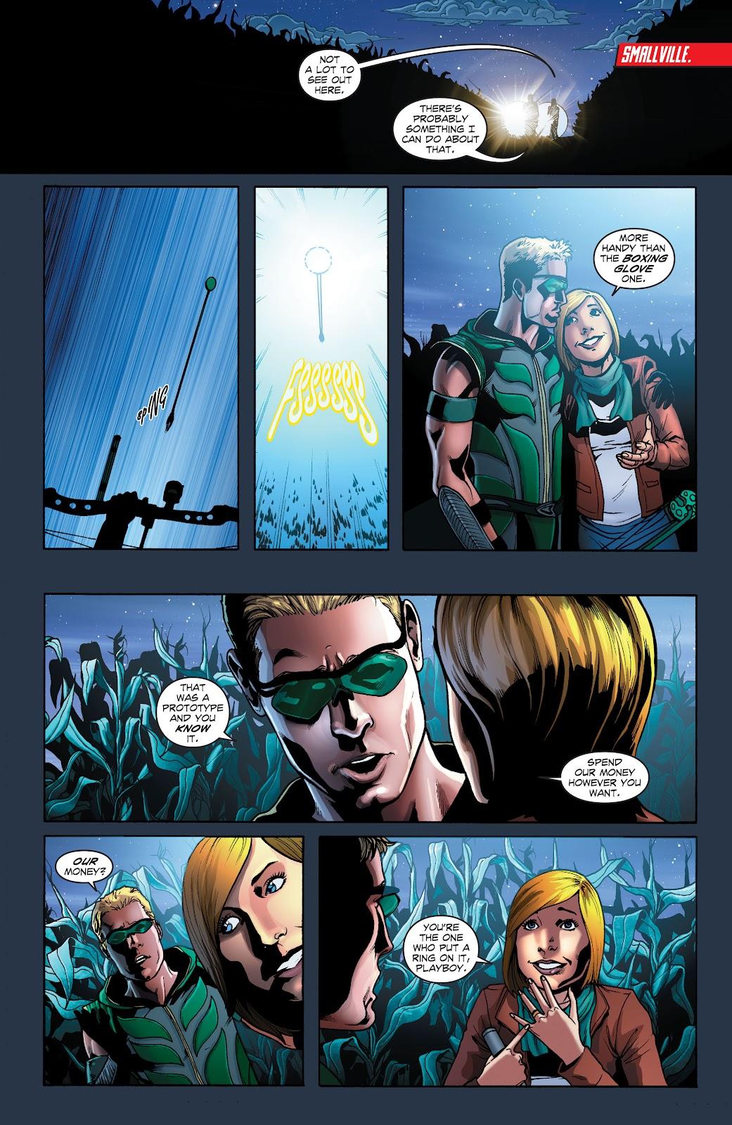 Read online Smallville Season 11 [II] comic -  Issue # TPB 1 - 71