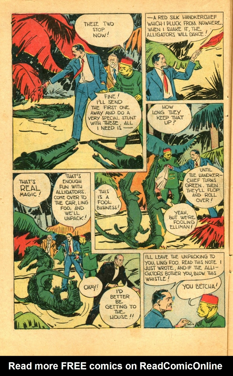 Read online Super-Magician Comics comic -  Issue #49 - 10