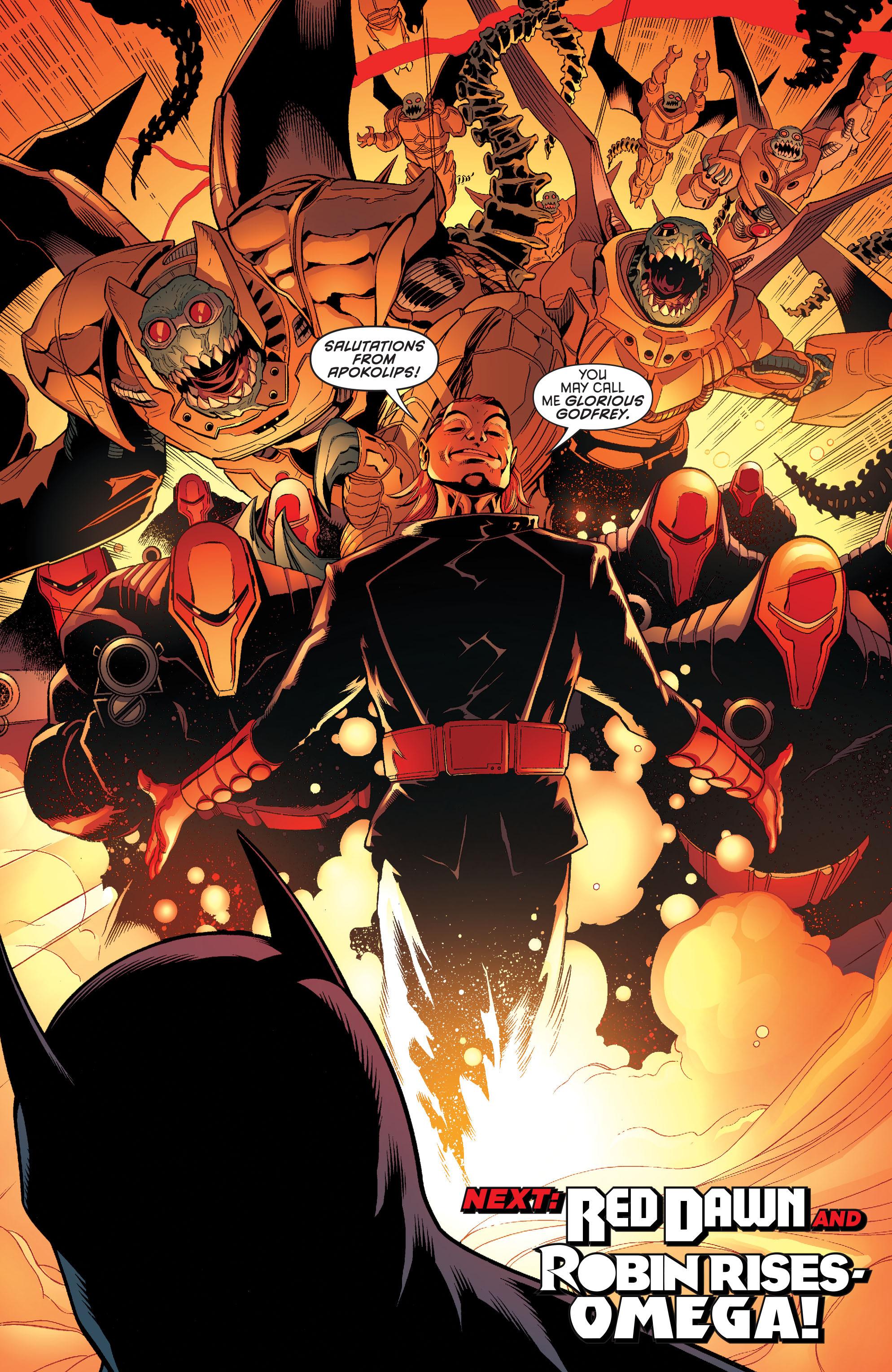 Read online Batman and Robin (2011) comic -  Issue #32 - Batman and Ra's al Ghul - 20