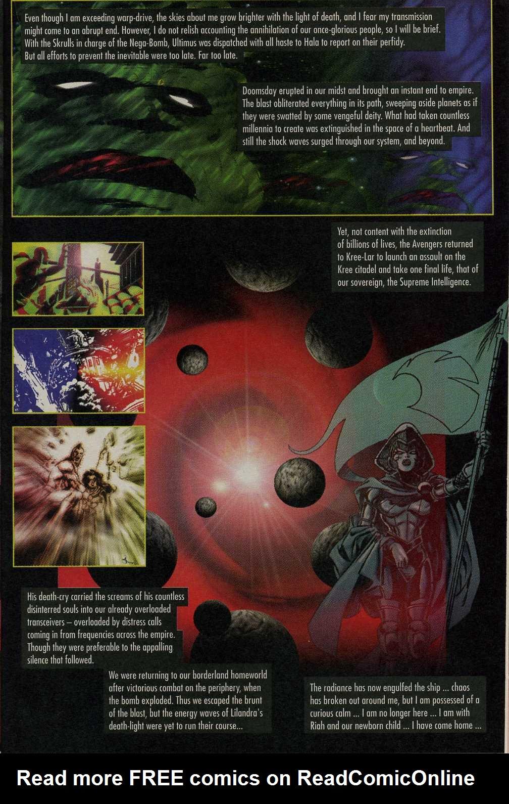 Read online Avengers Strike File comic -  Issue # Full - 14