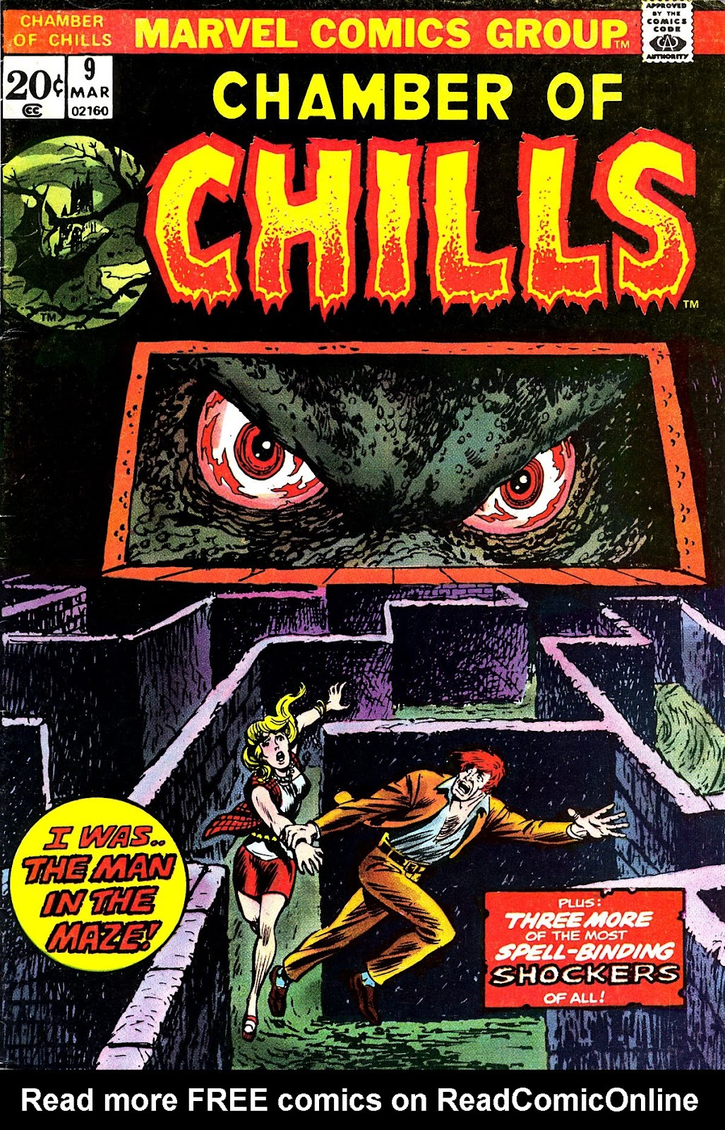 Chamber of Chills (1972) issue 9 - Page 1