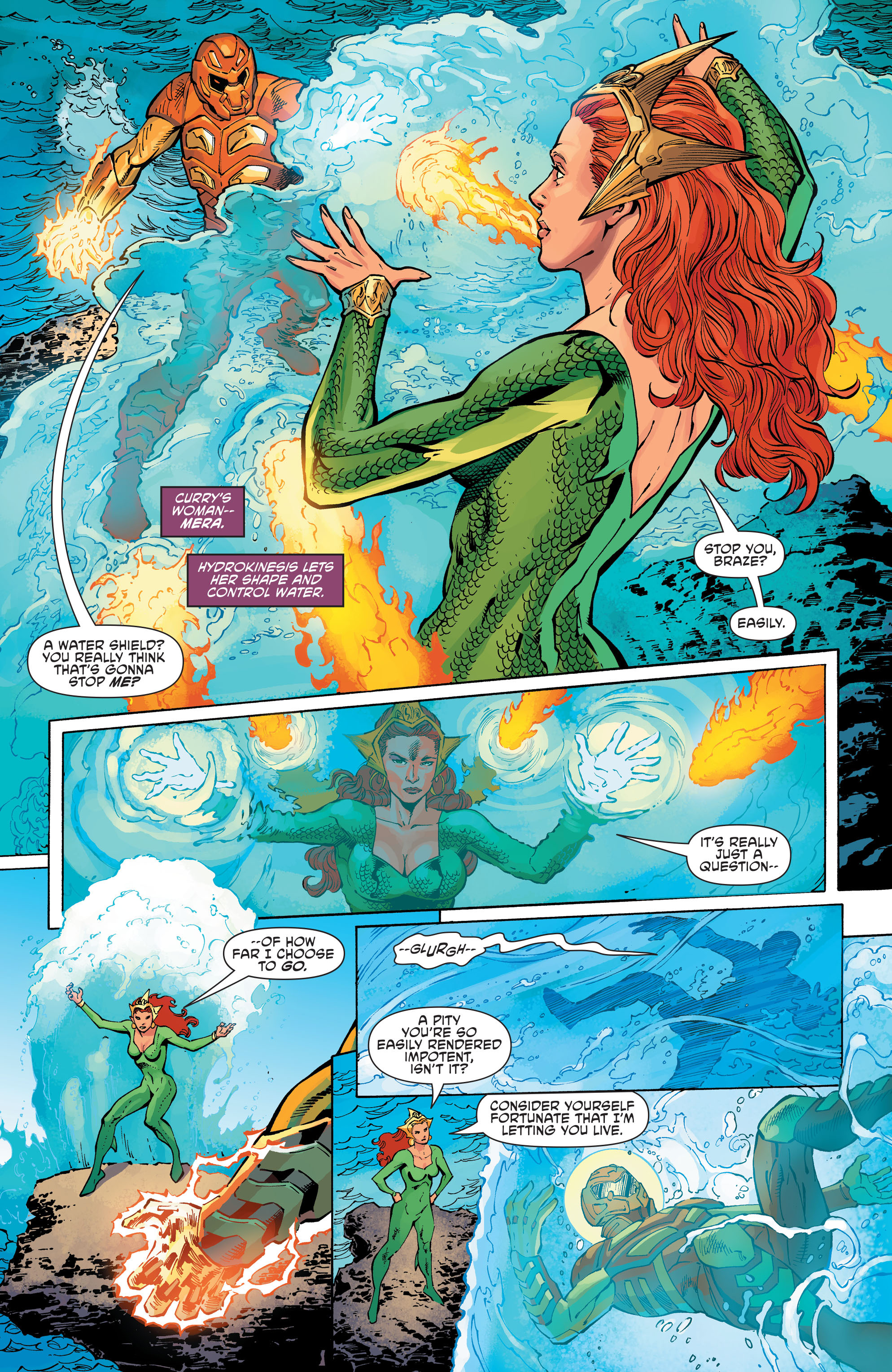 Read online Aquaman and the Others comic -  Issue #11 - 11