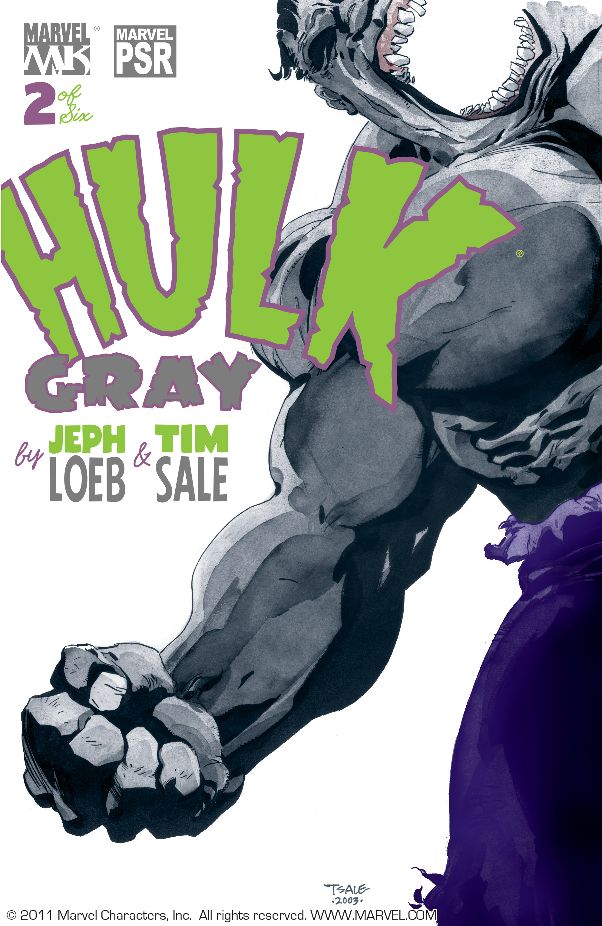 Read online Hulk: Gray comic -  Issue #2 - 1