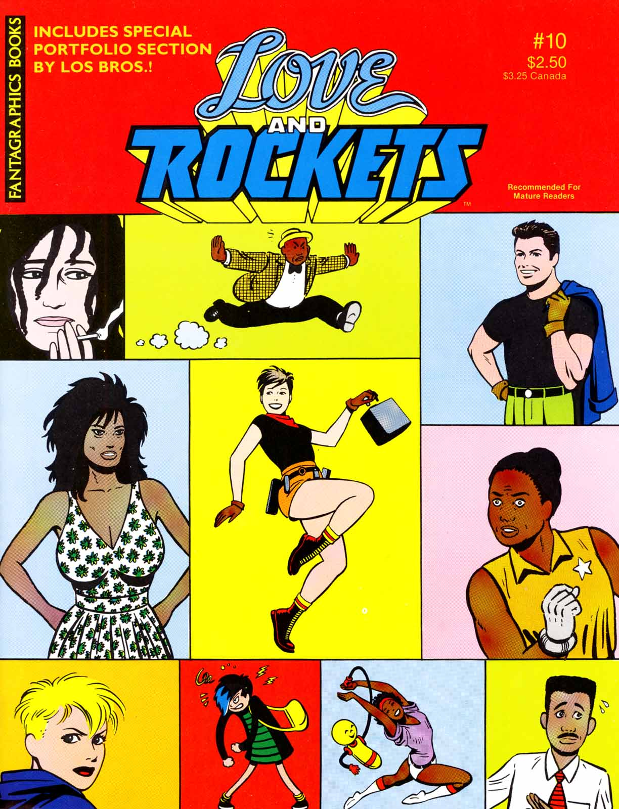 Love and Rockets (1982) issue 10 - Page 1