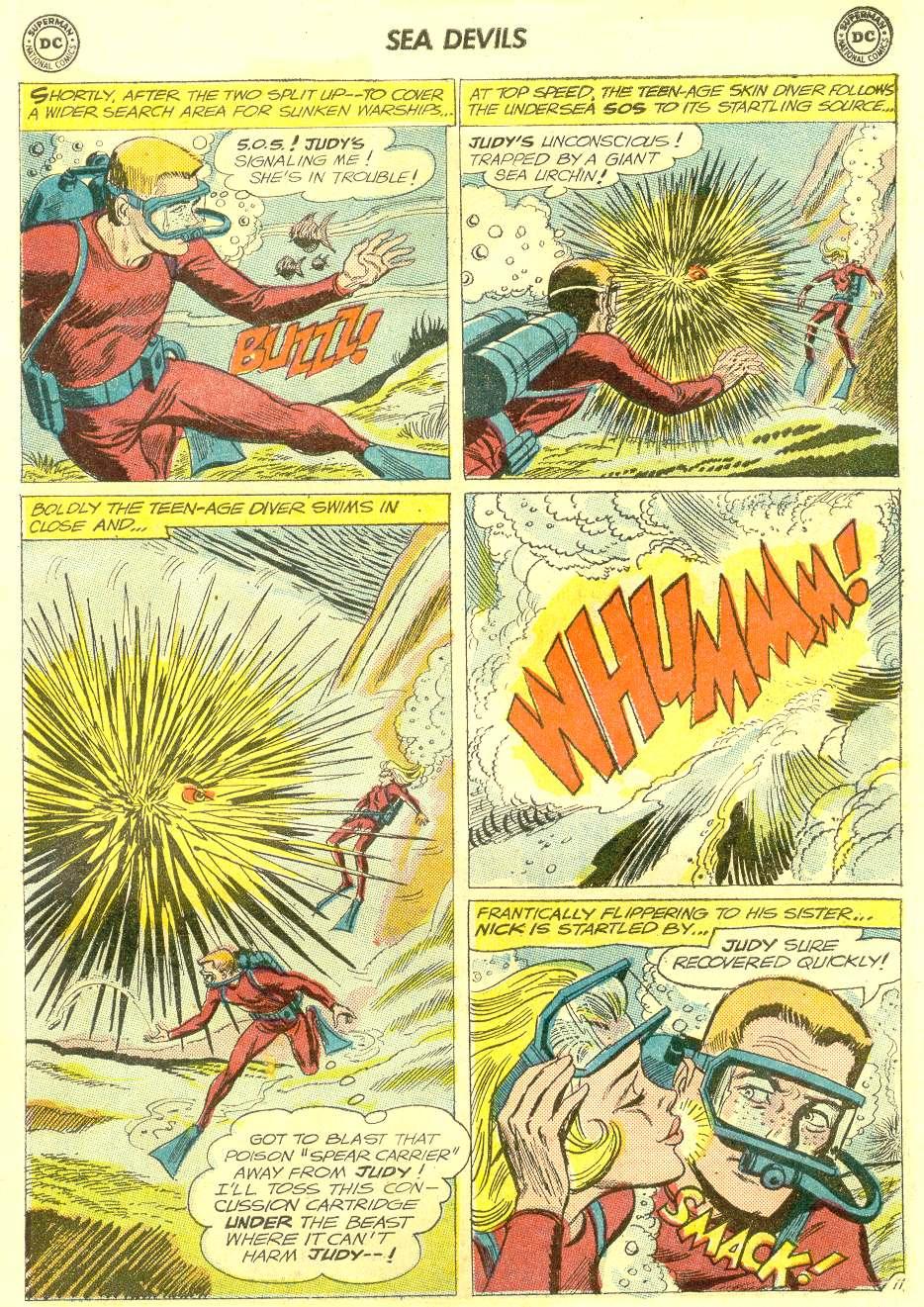 Read online Sea Devils comic -  Issue #12 - 15