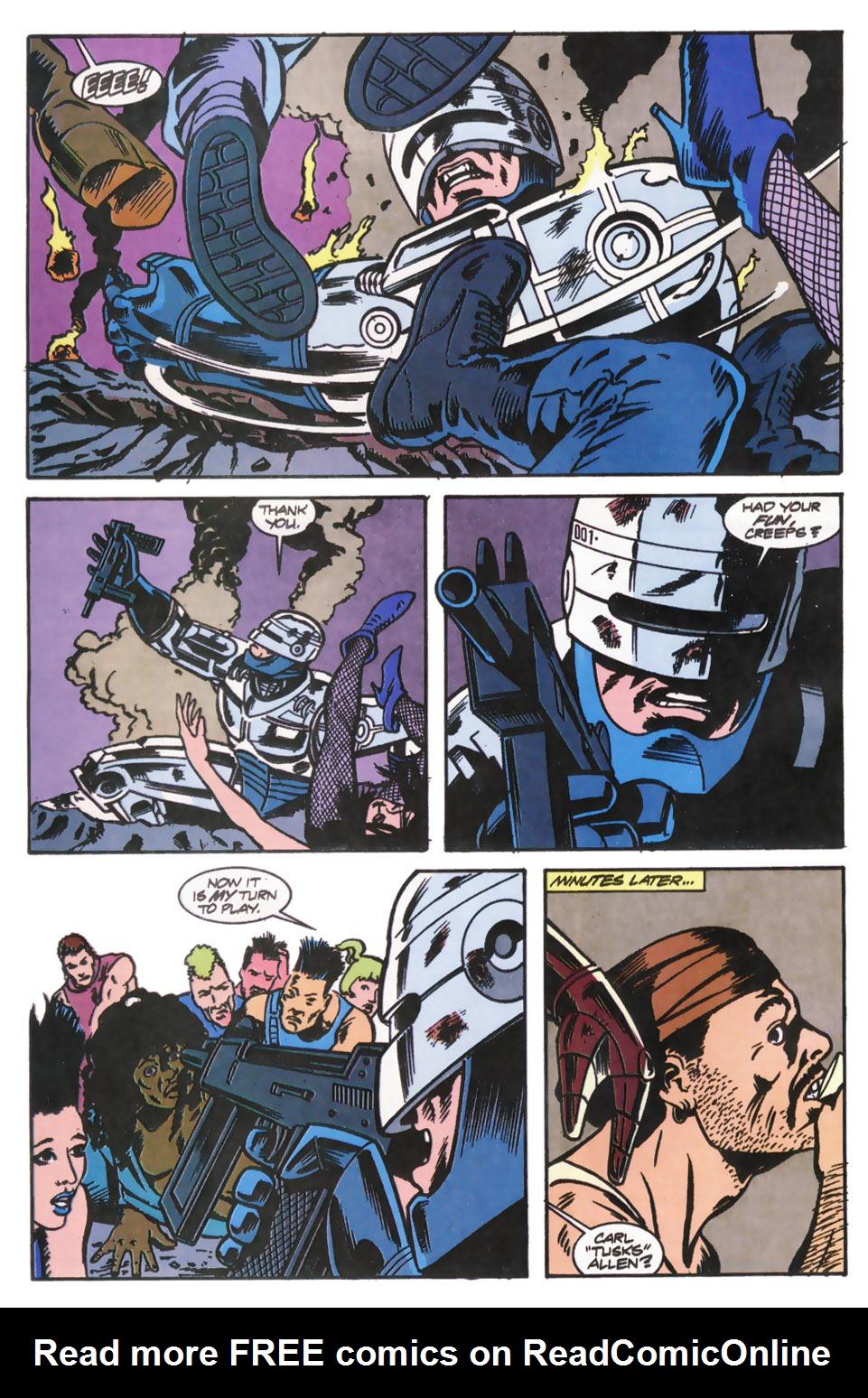 Read online Robocop (1990) comic -  Issue #12 - 20