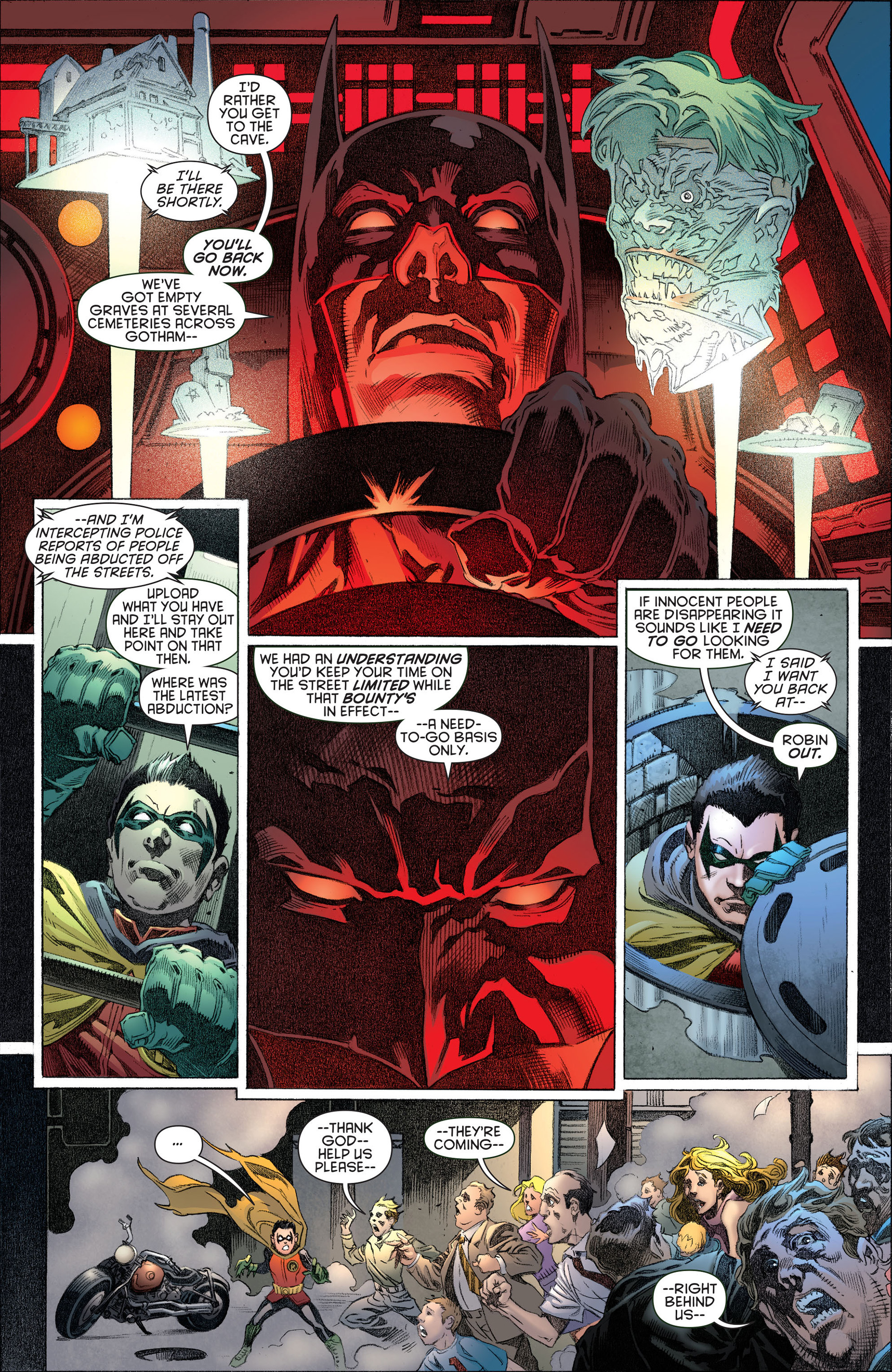 Read online Batman and Robin (2011) comic -  Issue #13 - 17