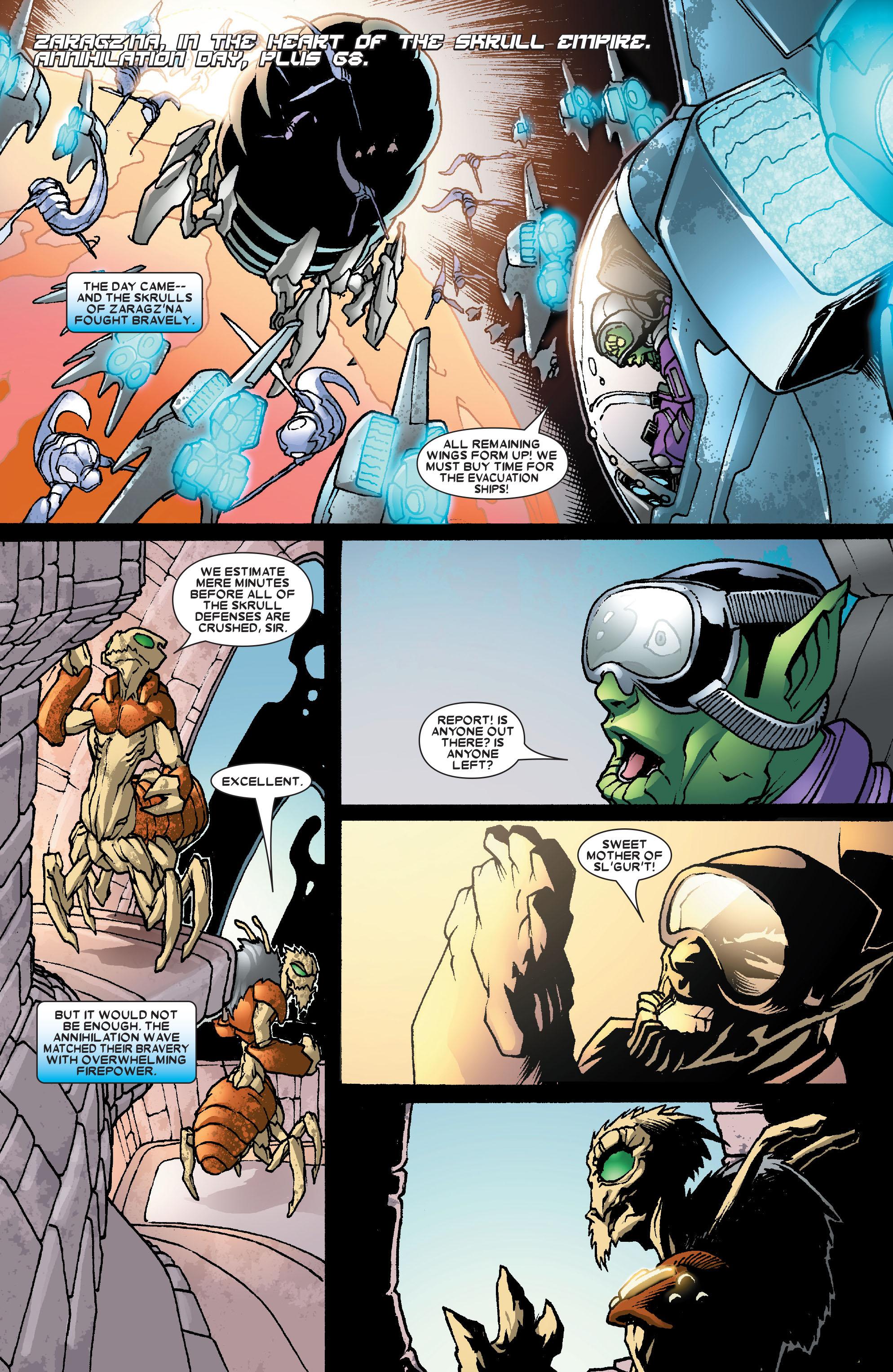 Read online Annihilation: Super-Skrull comic -  Issue #3 - 19