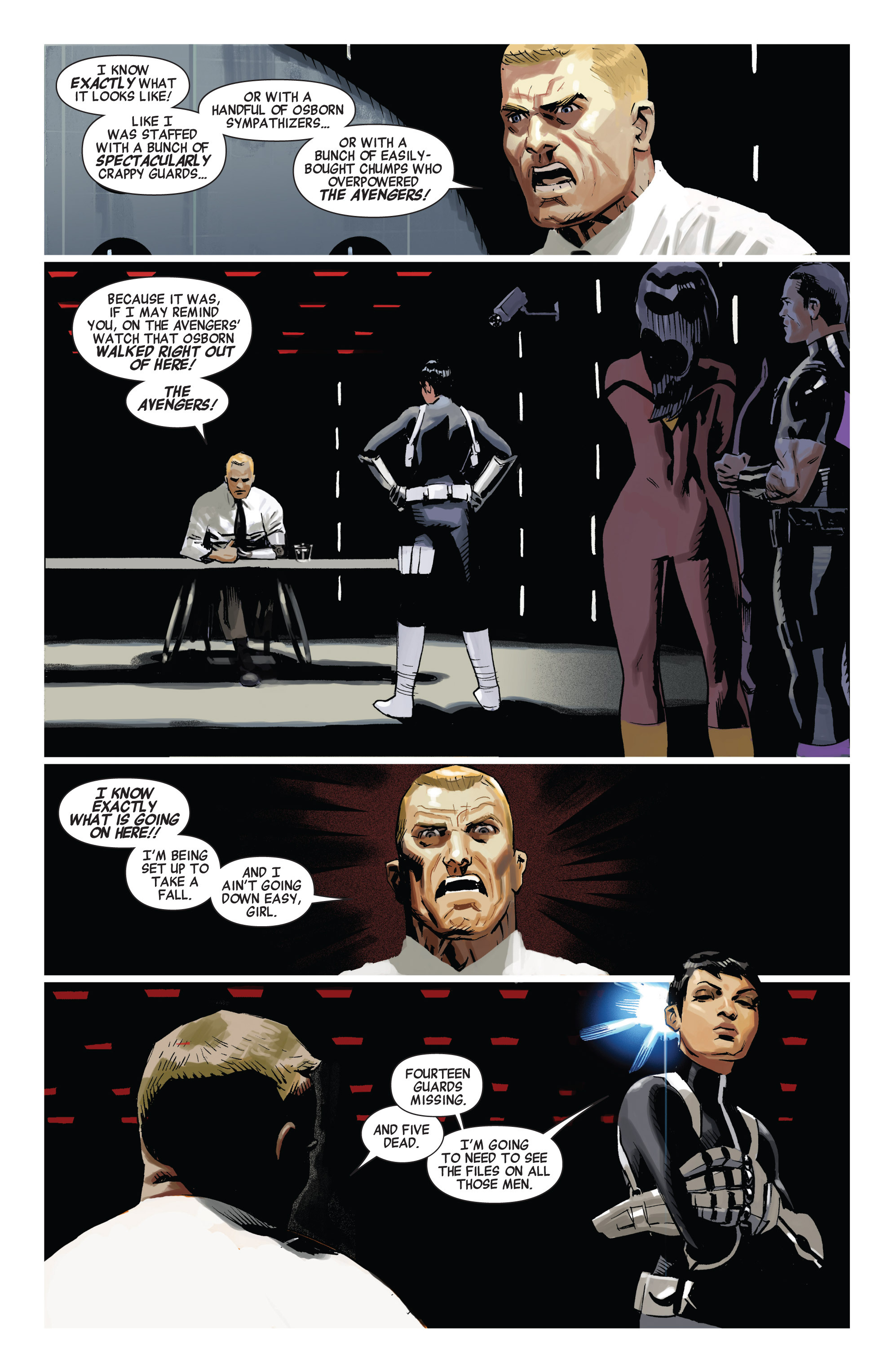 Read online Avengers (2010) comic -  Issue #19 - 5