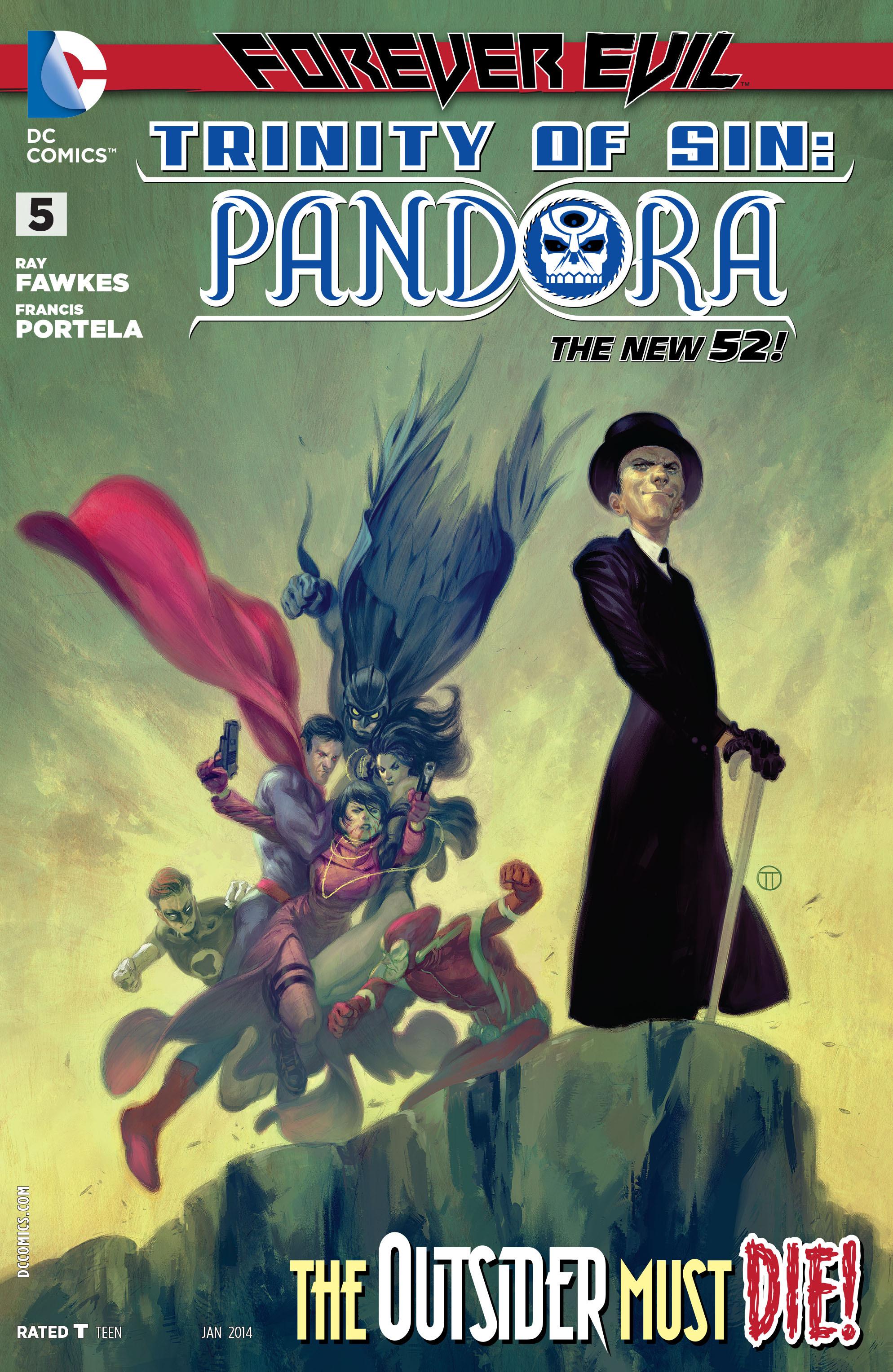 Read online Trinity of Sin: Pandora comic -  Issue #5 - 1