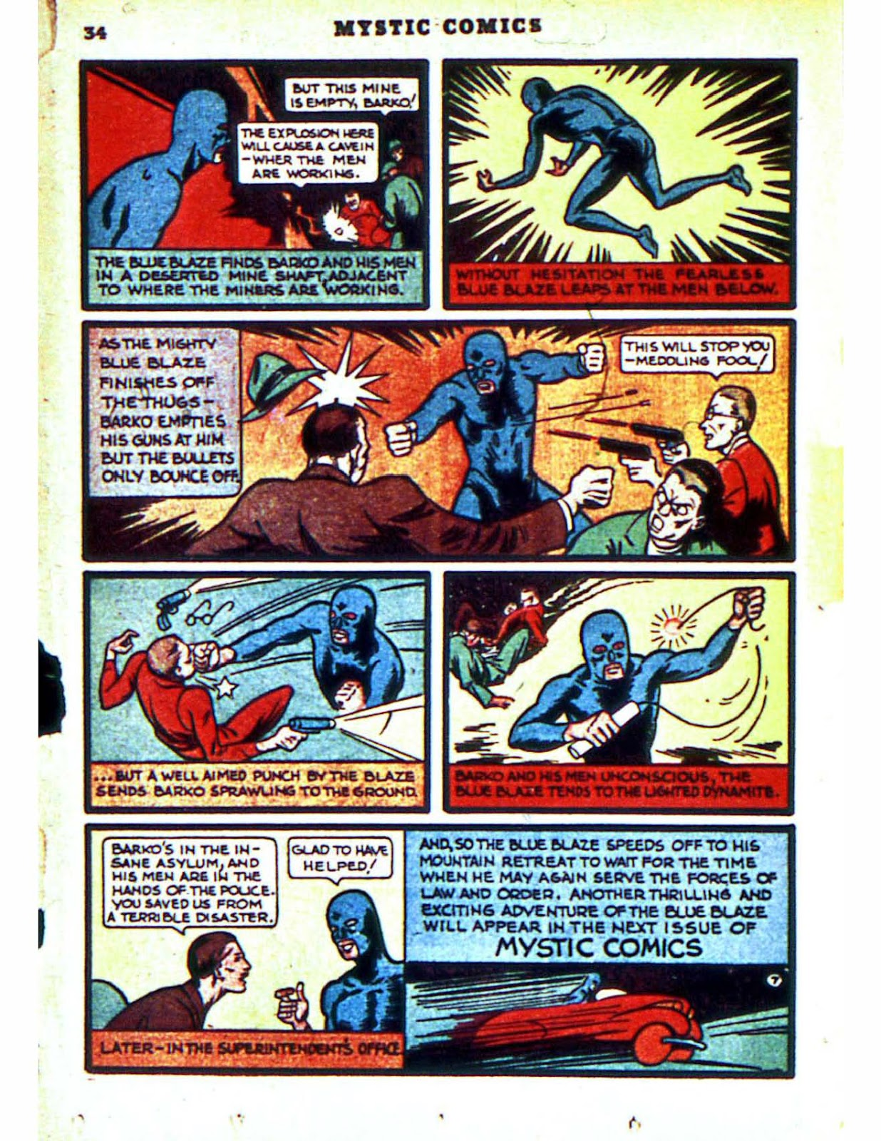 Mystic Comics (1940) issue 2 - Page 36