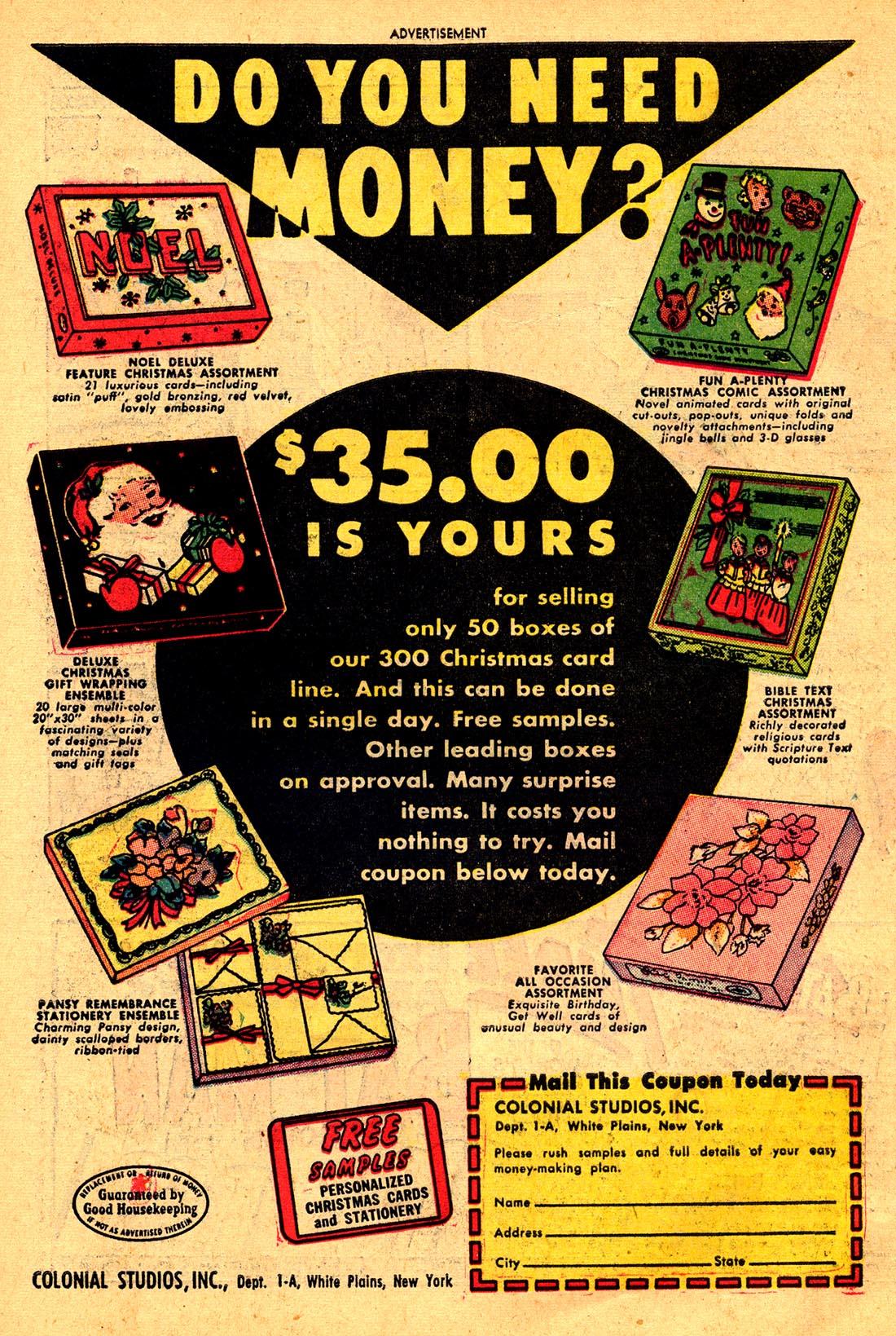Read online Adventure Comics (1938) comic -  Issue #204 - 42