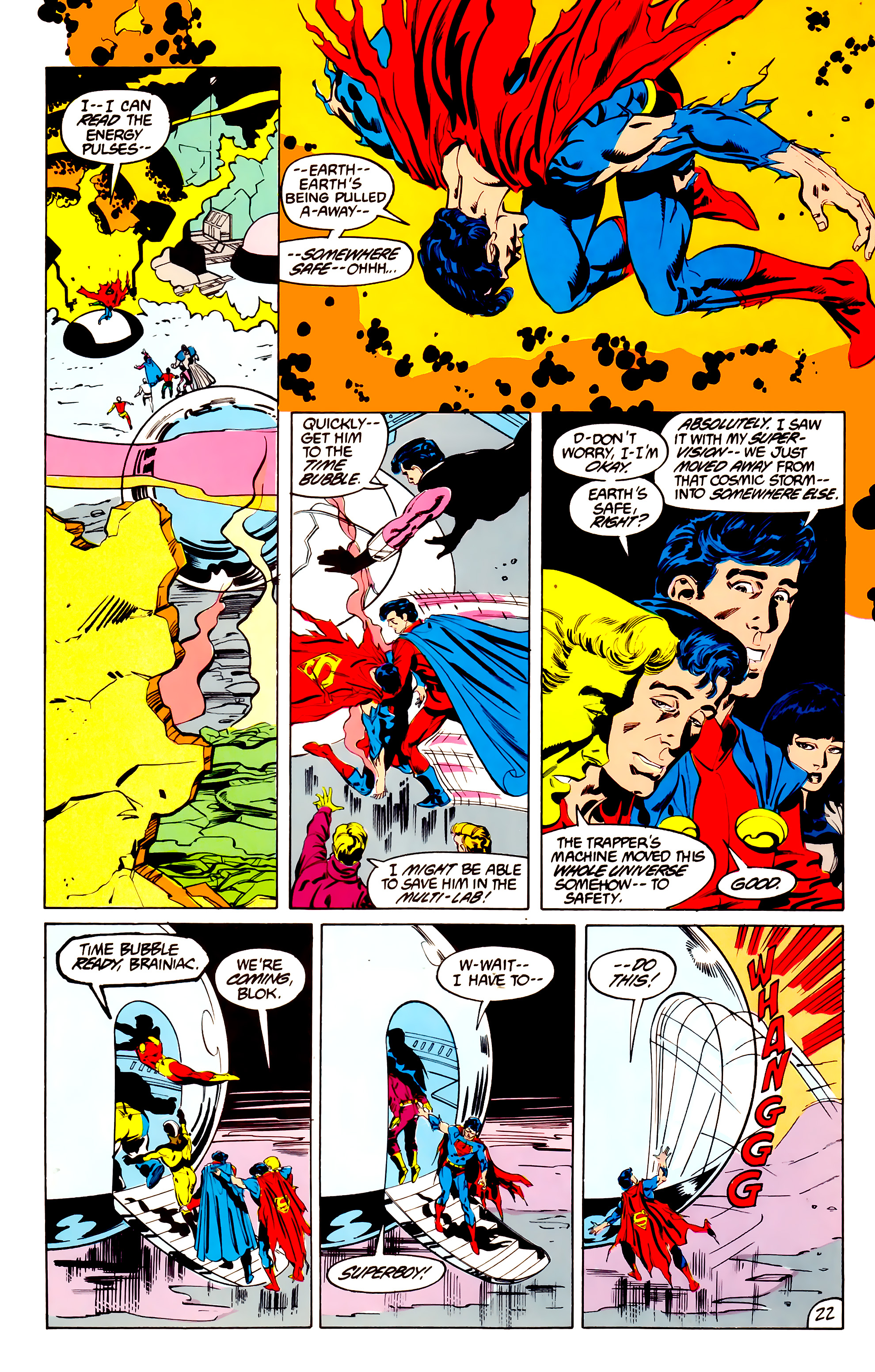 Legion of Super-Heroes (1984) 38 Page 22