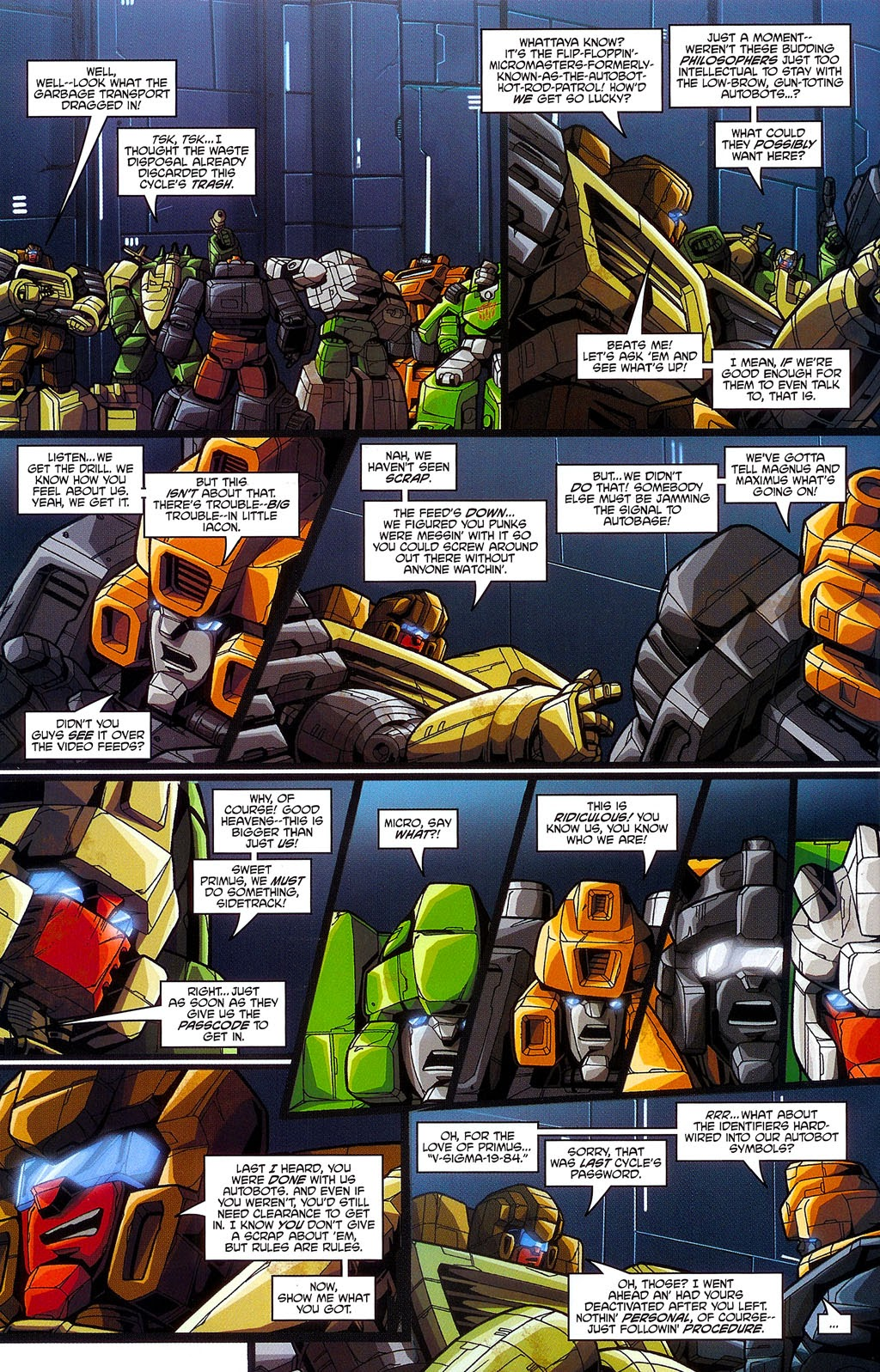 Read online Transformers: Micromasters comic -  Issue #3 - 15