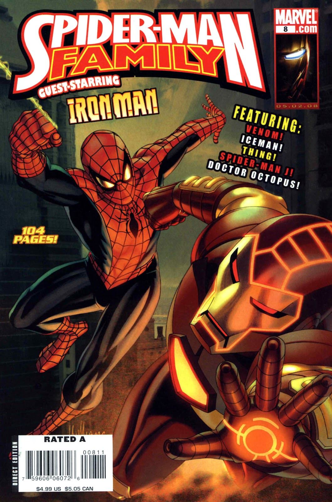 Spider-Man Family (2007) issue 8 - Page 1