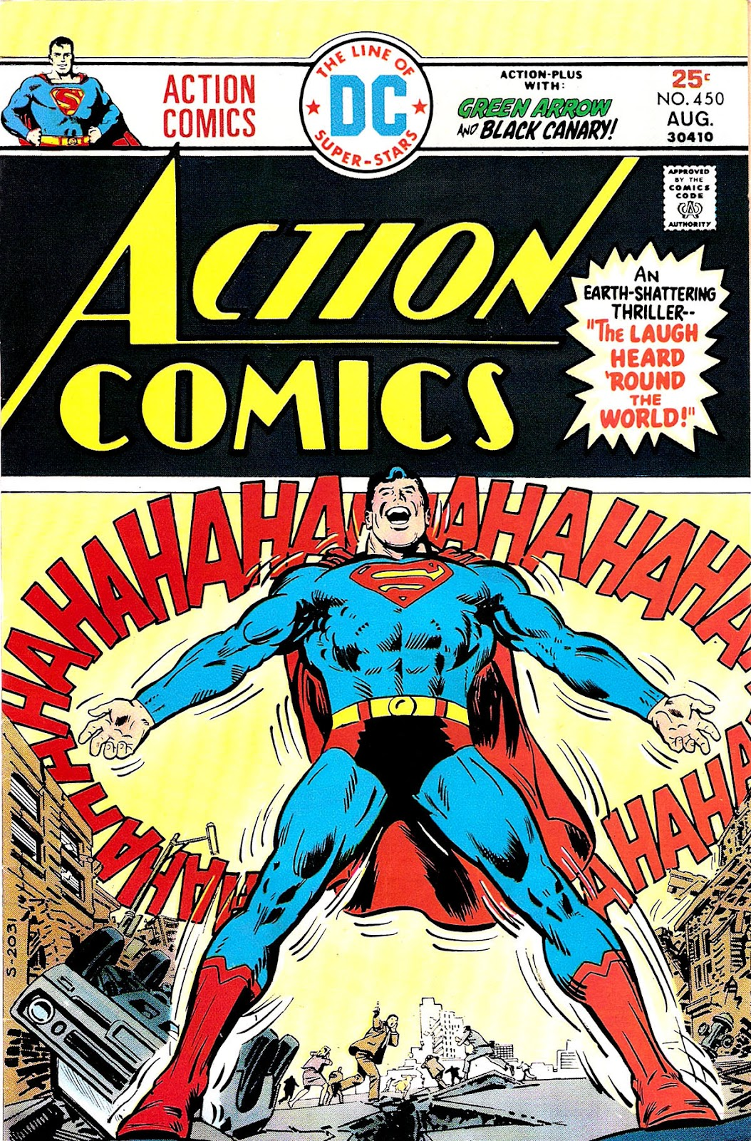 Action Comics (1938) 450 Page 1