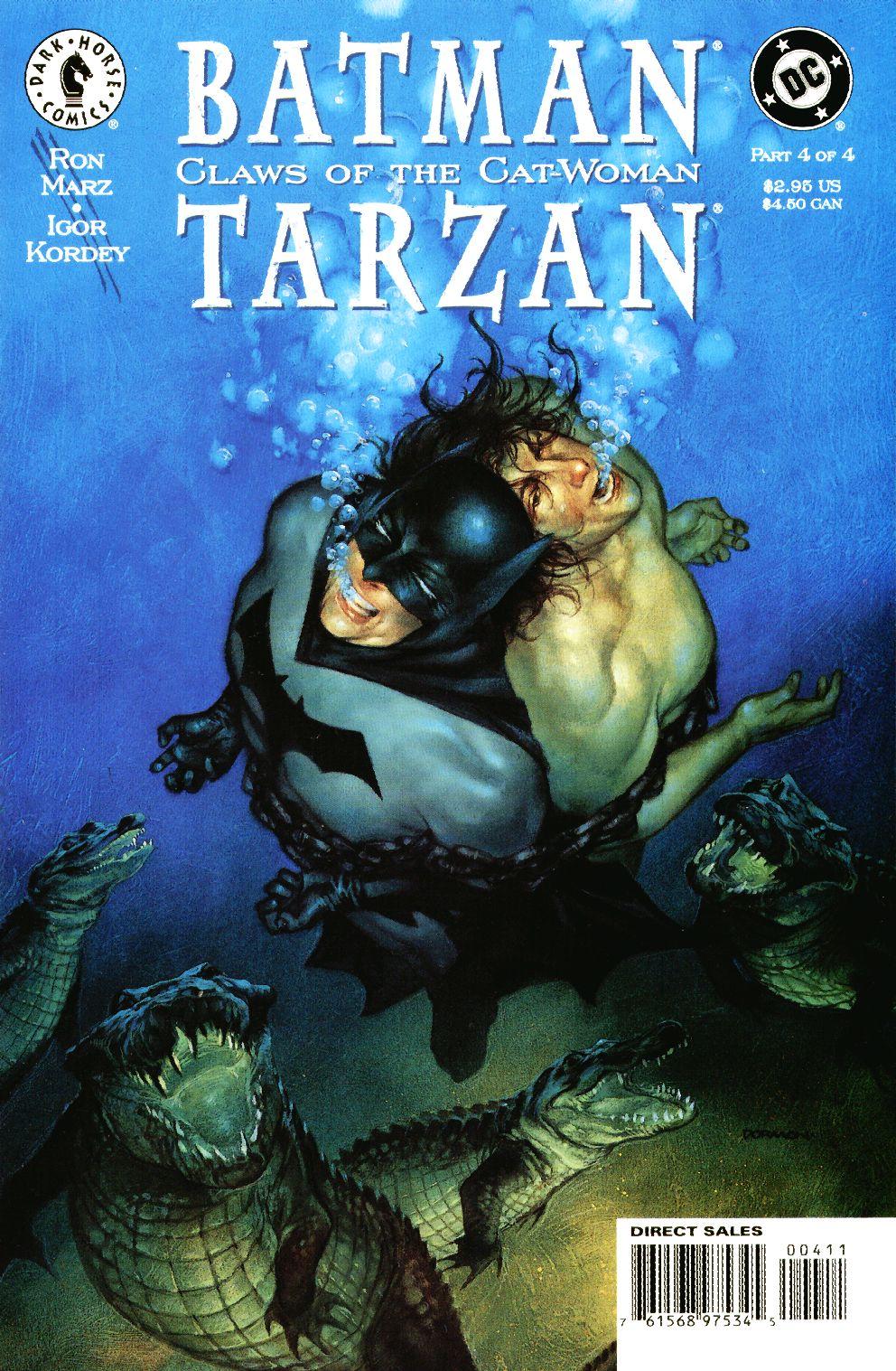 Batman/Tarzan: Claws of the Cat-Woman 4 Page 1