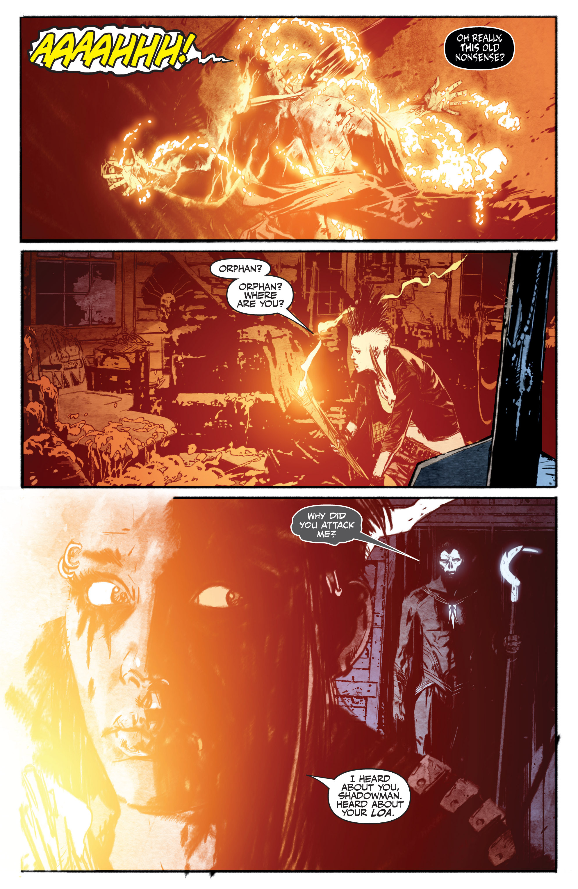 Read online Shadowman (2012) comic -  Issue #13 - 20