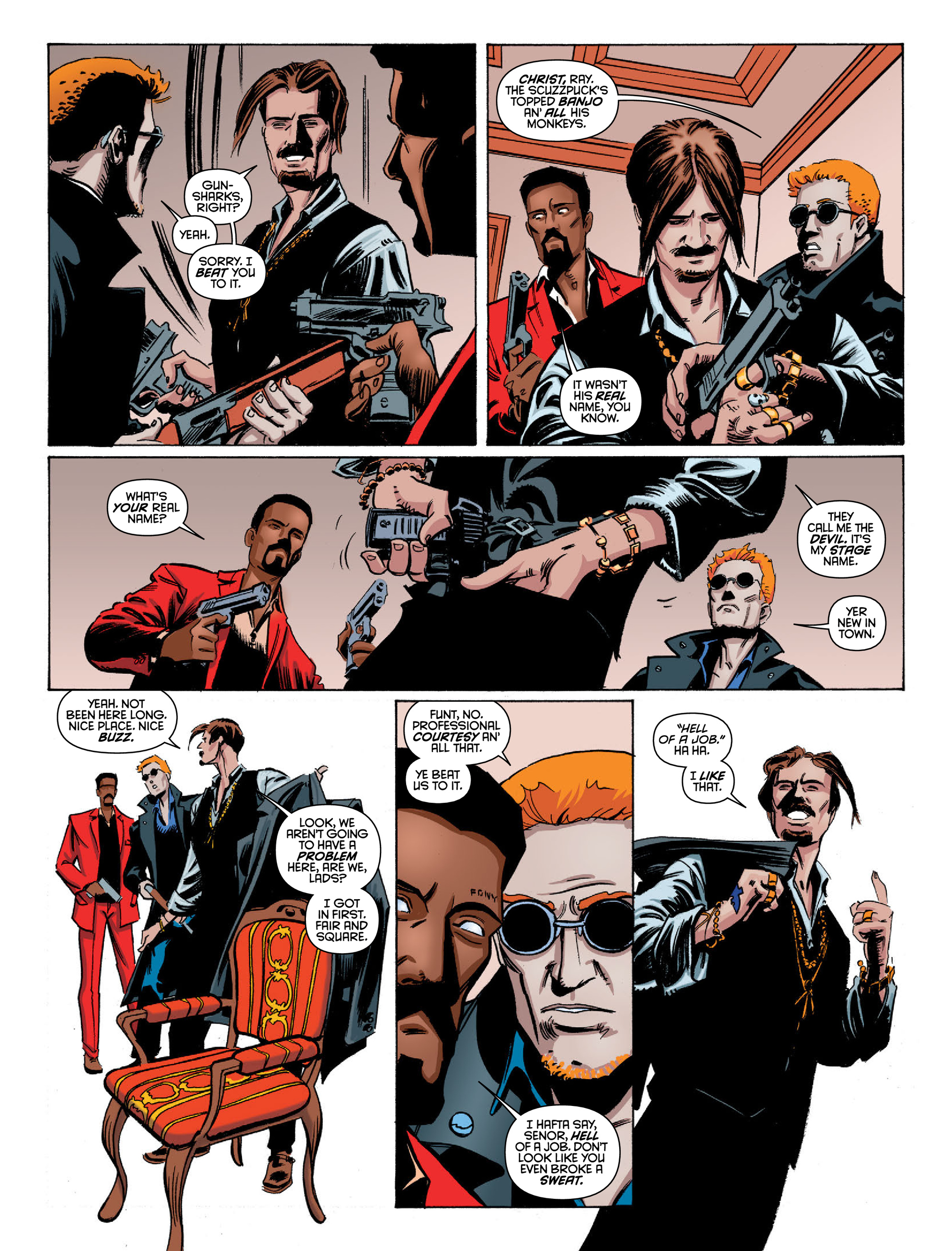 Read online 2000 AD comic -  Issue #2022 - 12