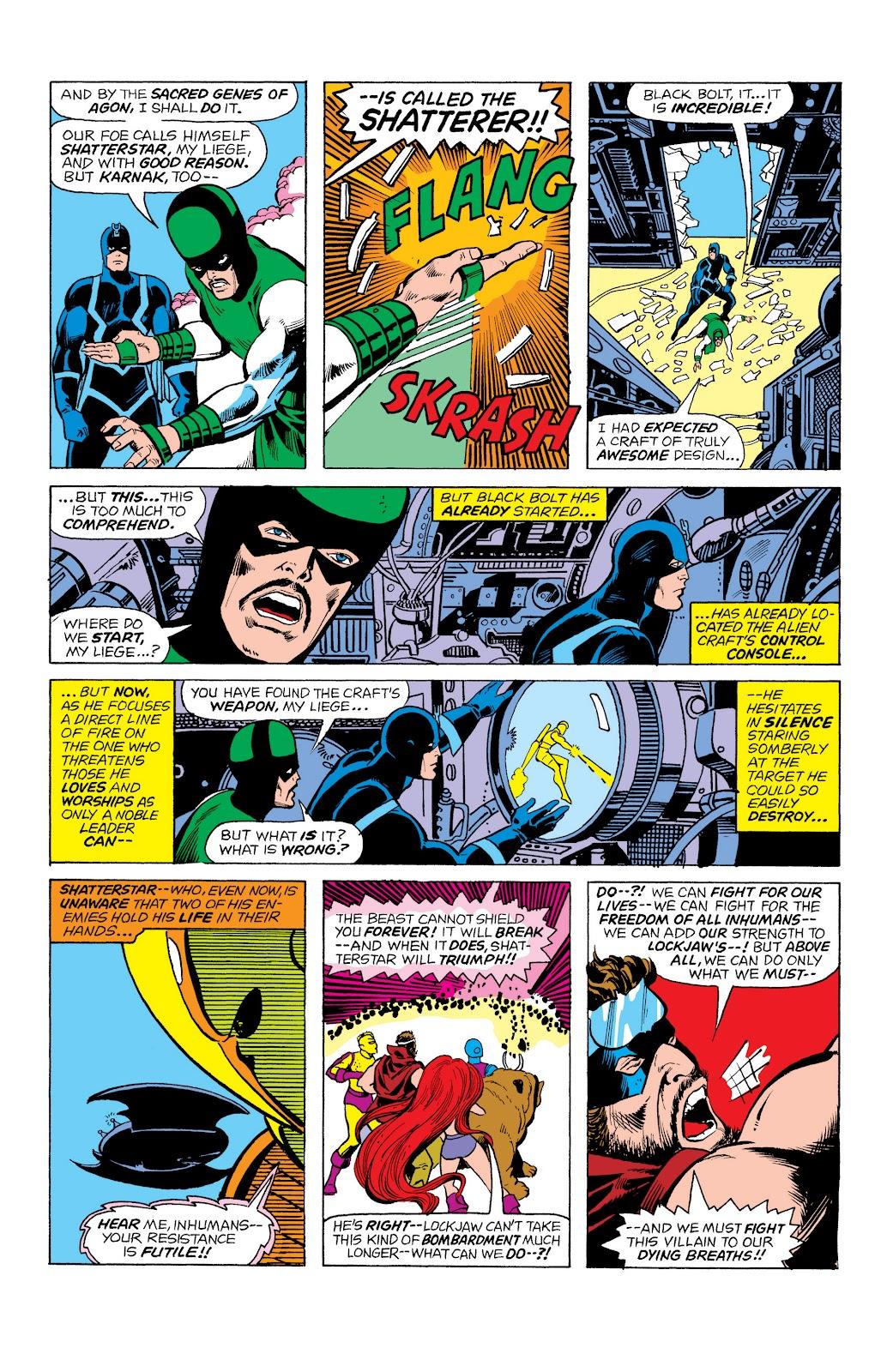 Read online Marvel Masterworks: The Inhumans comic -  Issue # TPB 2 (Part 1) - 72