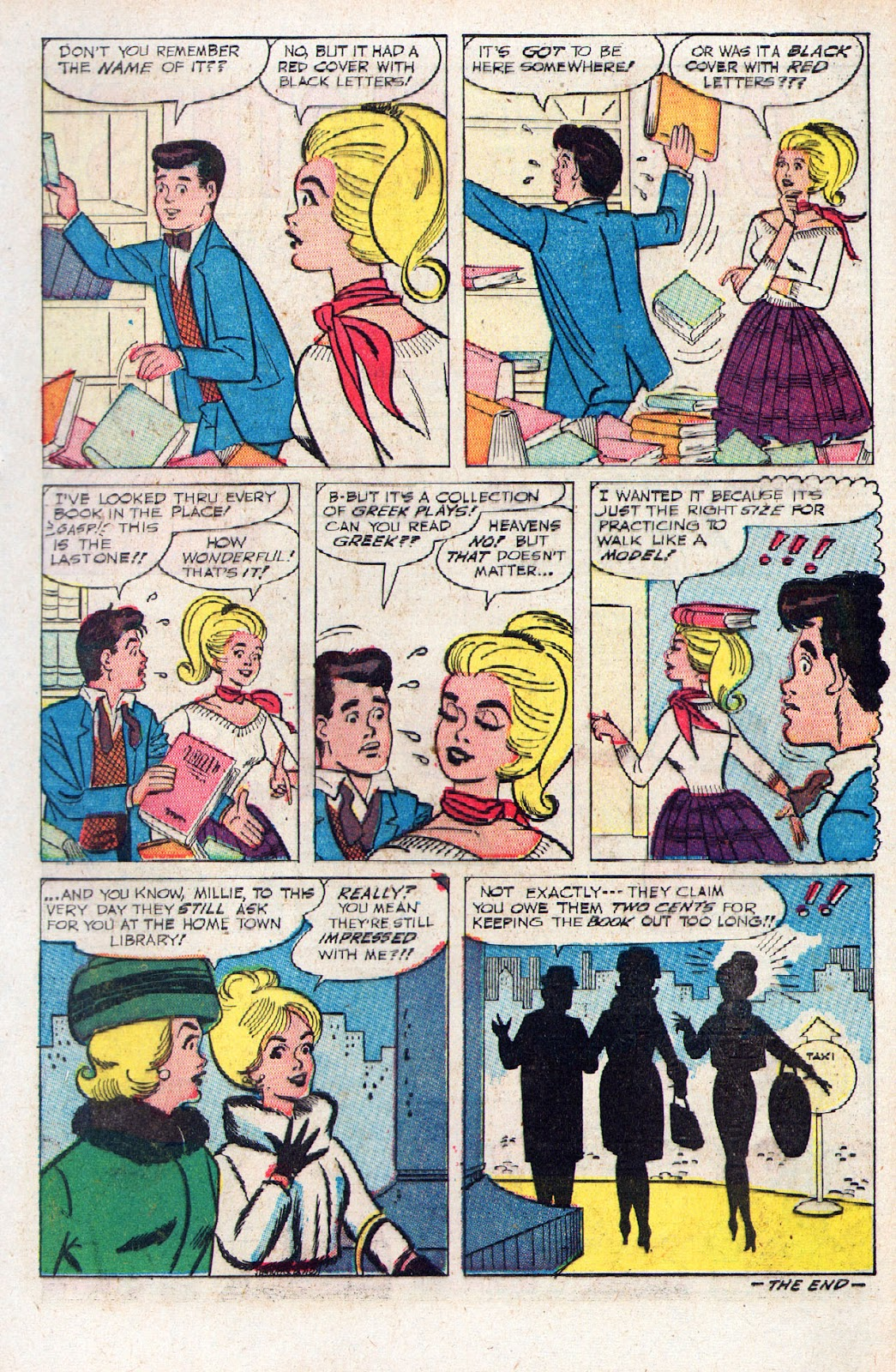 Read online Millie the Model comic -  Issue # Annual 2 - 37