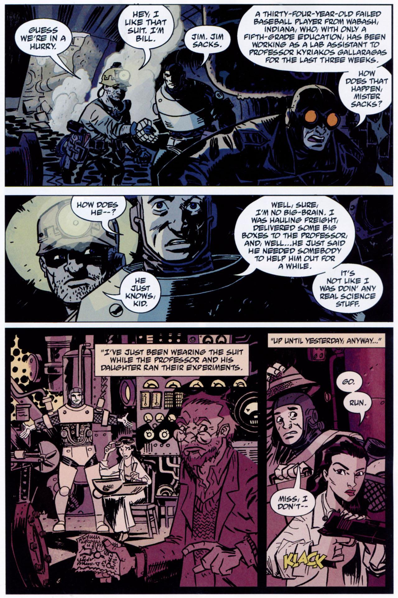 Read online Lobster Johnson: The Iron Prometheus comic -  Issue #1 - 16