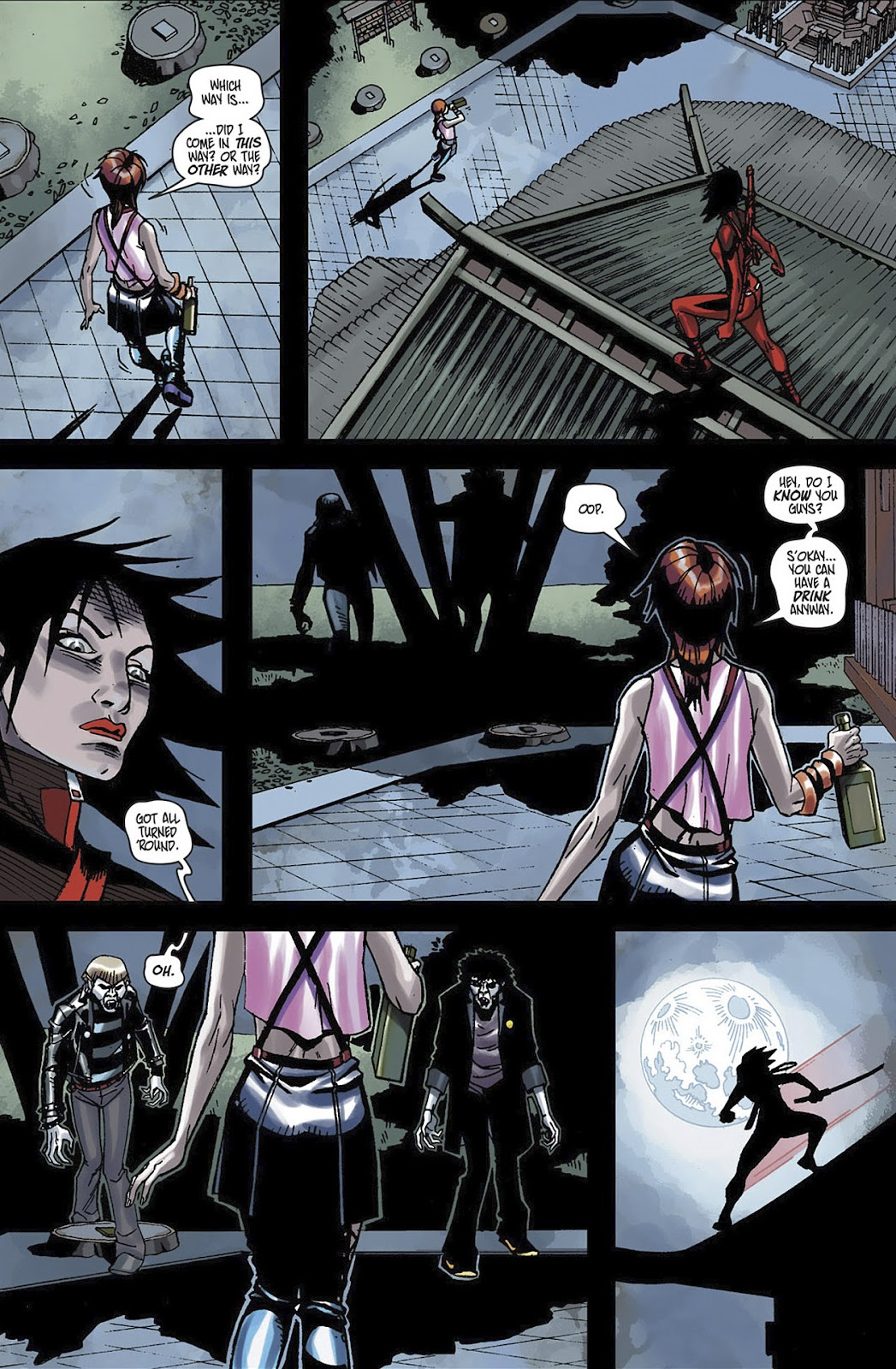 Read online Shinku comic -  Issue #3 - 17