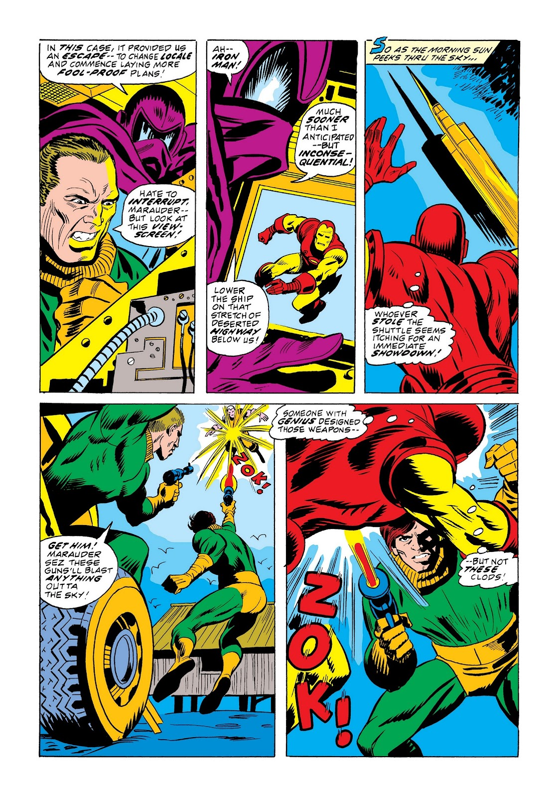 Read online Marvel Masterworks: The Invincible Iron Man comic -  Issue # TPB 9 (Part 2) - 44