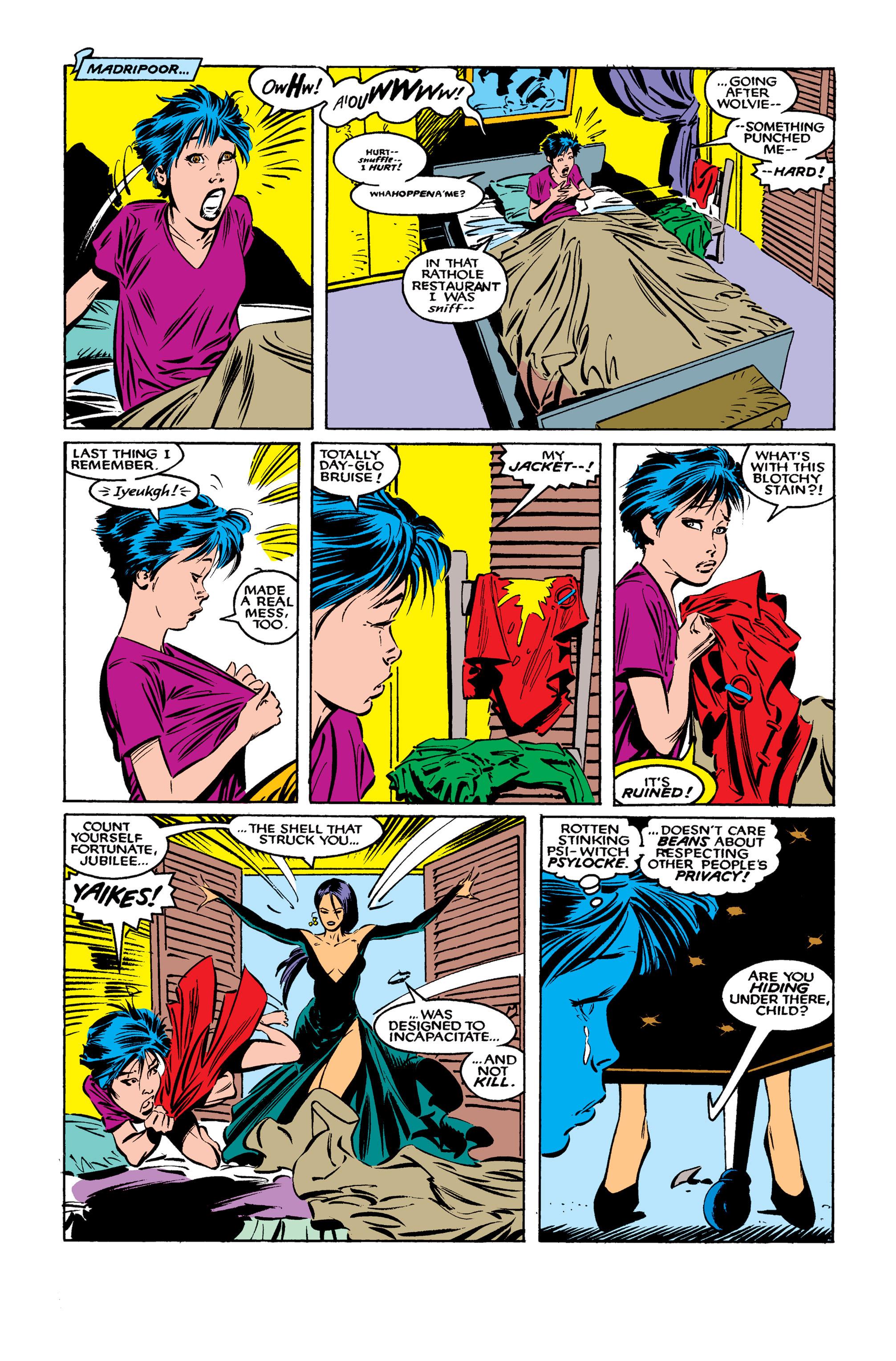 Read online Uncanny X-Men (1963) comic -  Issue #261 - 14