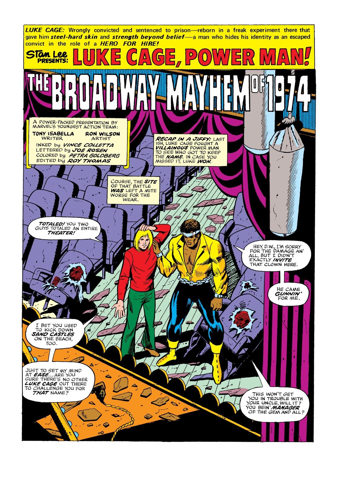 Read online Marvel Masterworks: Luke Cage, Power Man comic -  Issue # TPB 2 (Part 2) - 7