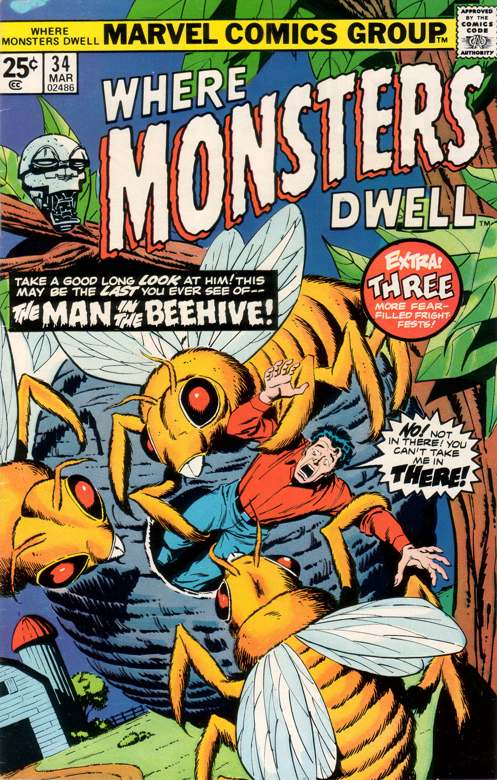 Where Monsters Dwell (1970) 34 Page 1