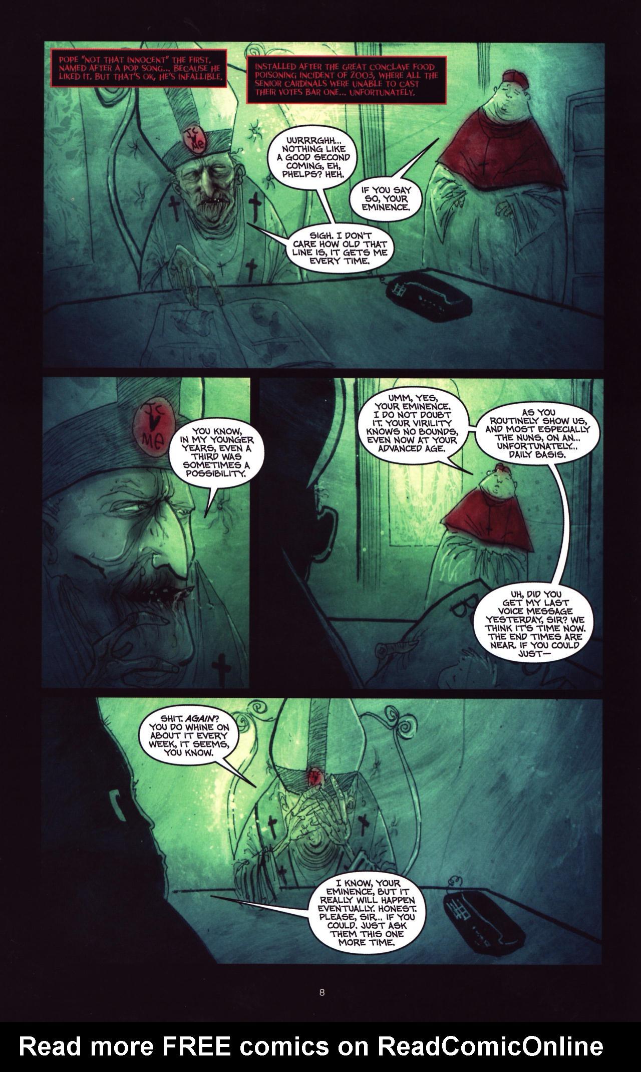 Read online Wormwood: Gentleman Corpse comic -  Issue #8 - 9
