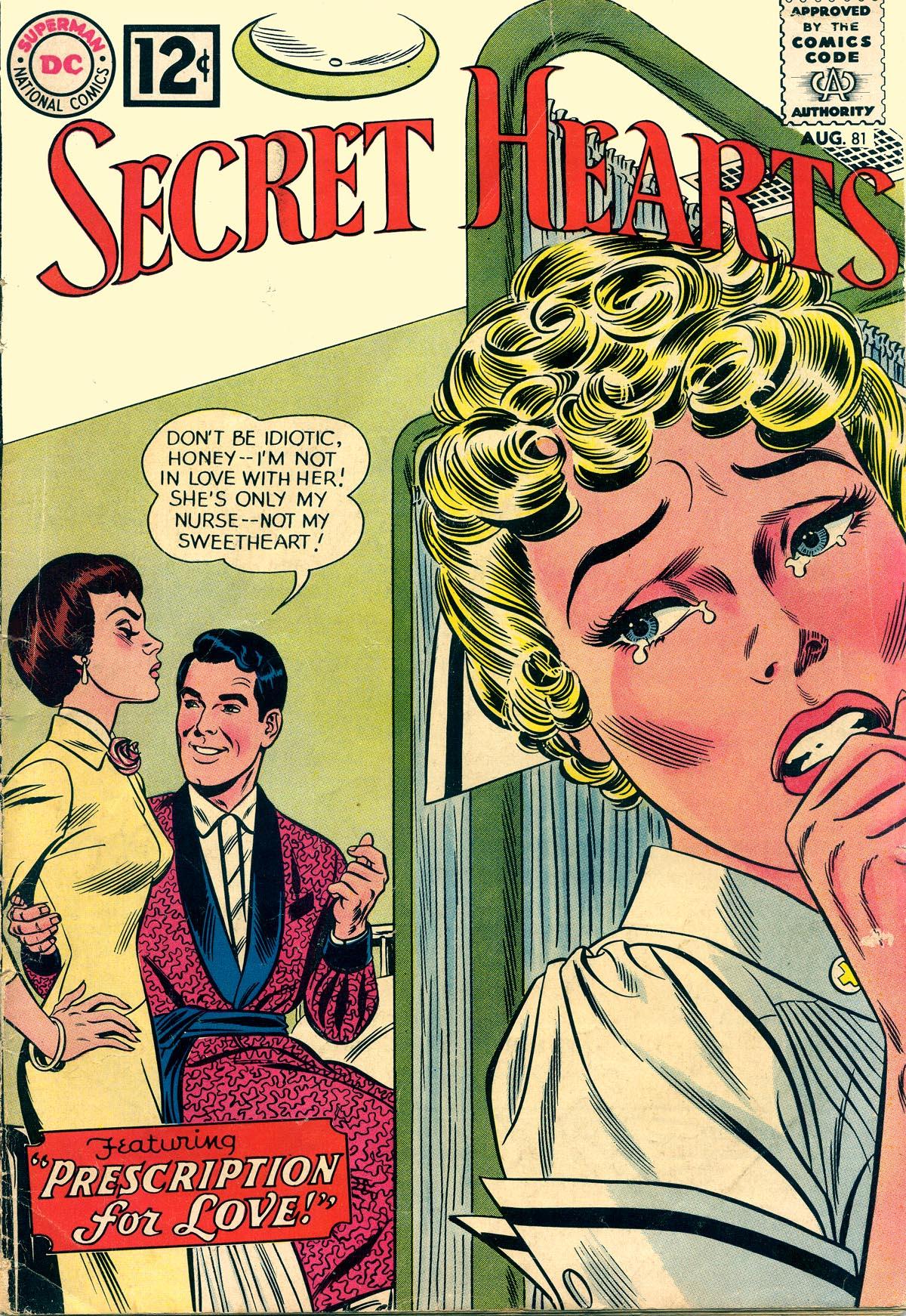 Read online Secret Hearts comic -  Issue #81 - 1