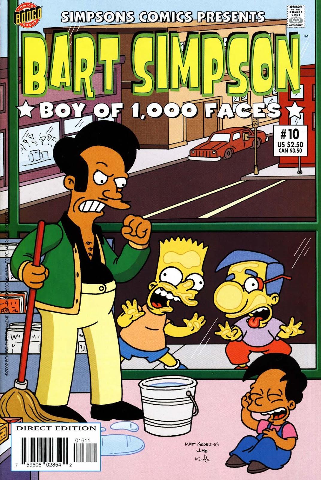 Simpsons Comics Presents Bart Simpson 10 Page 1