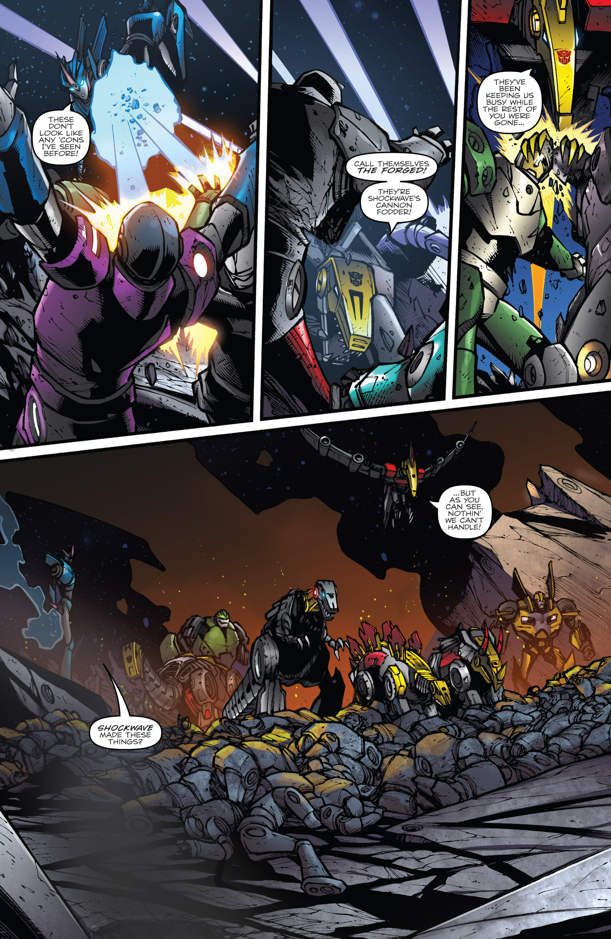 Read online Transformers Prime: Beast Hunters comic -  Issue #8 - 6