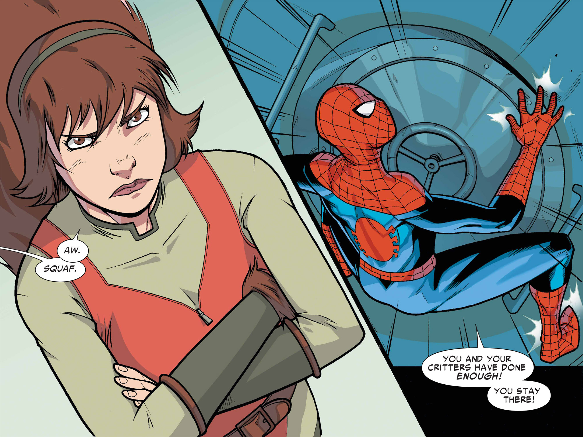 Read online Ultimate Spider-Man (Infinite Comics) (2016) comic -  Issue #1 - 28