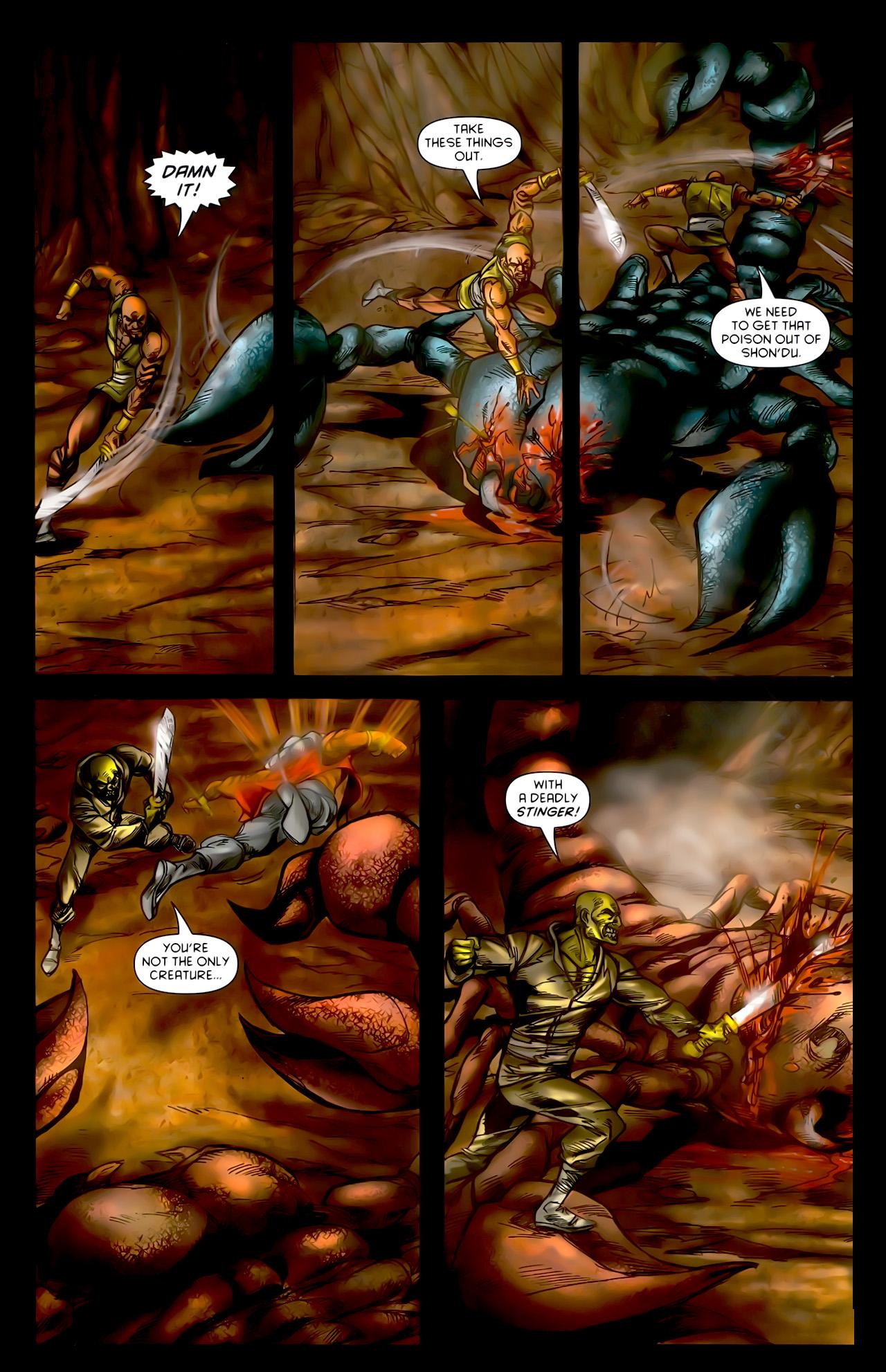 Read online 1001 Arabian Nights: The Adventures of Sinbad comic -  Issue #10 - 19