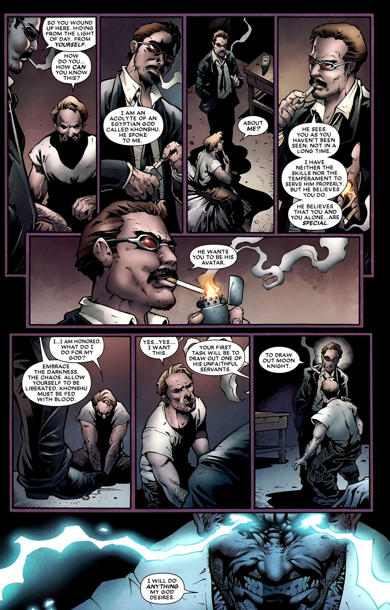 Read online Shadowland: Moon Knight comic -  Issue #1 - 25