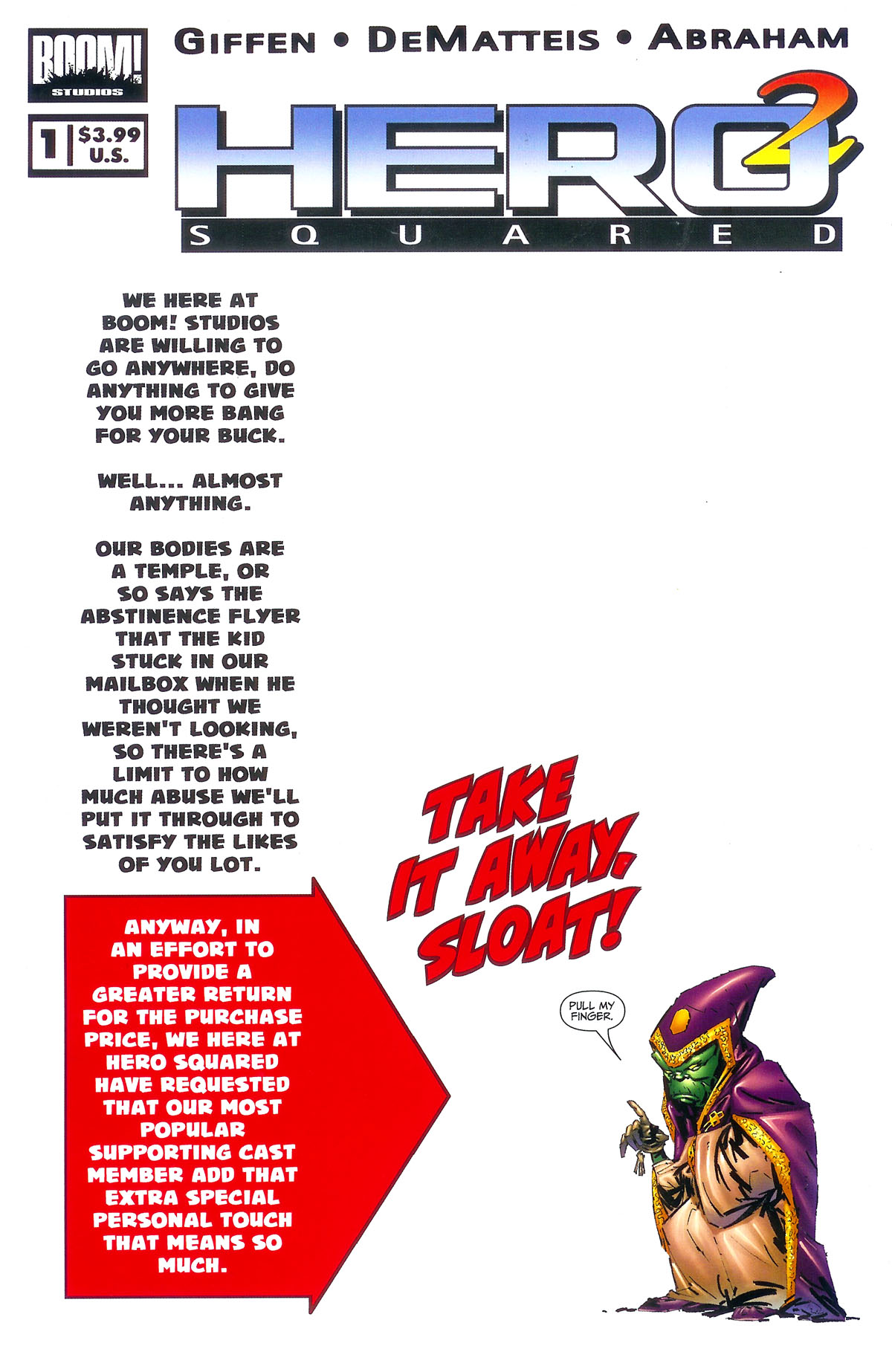 Hero Squared (2005) issue 1 - Page 1