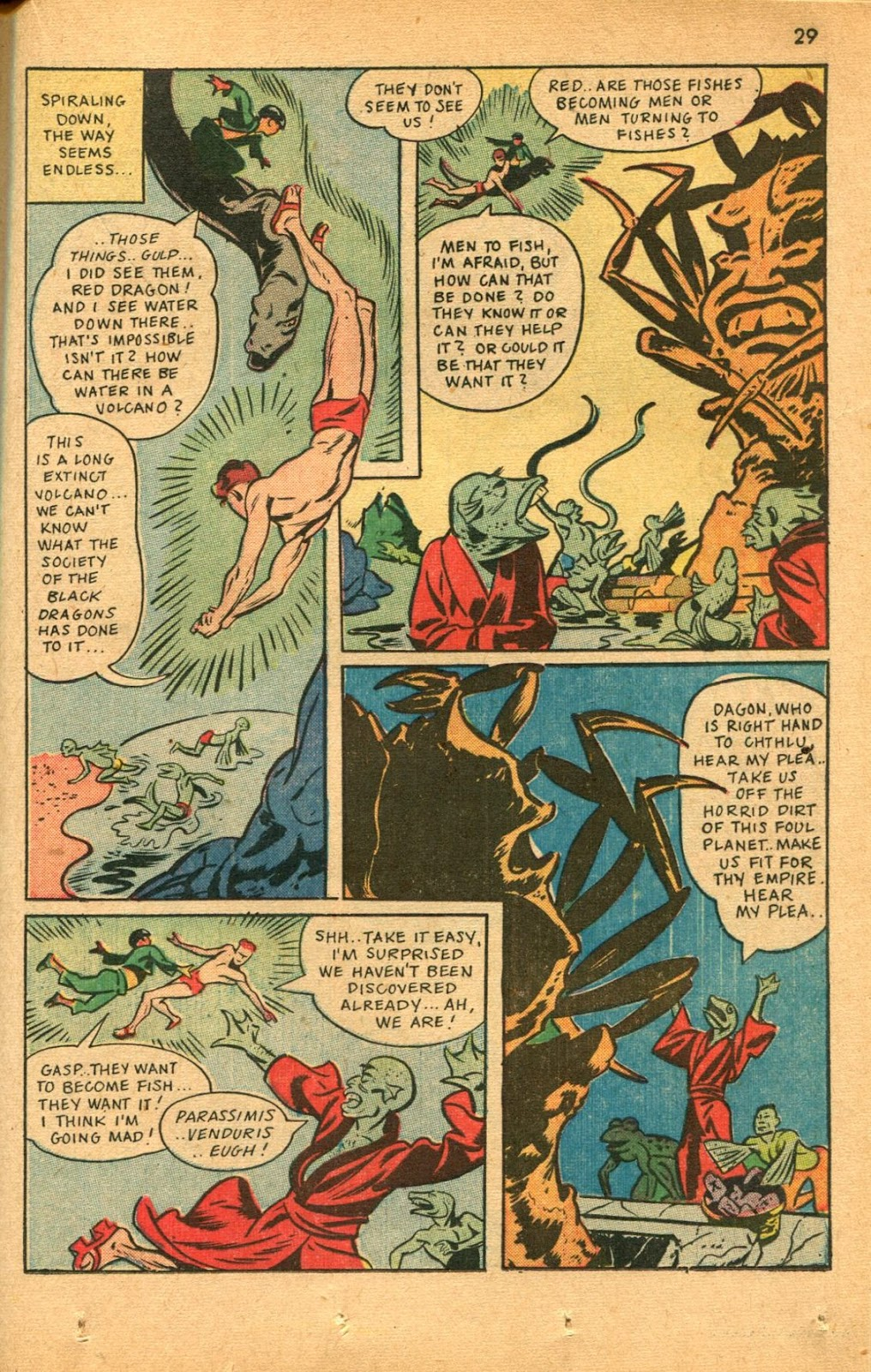 Read online Super-Magician Comics comic -  Issue #46 - 29