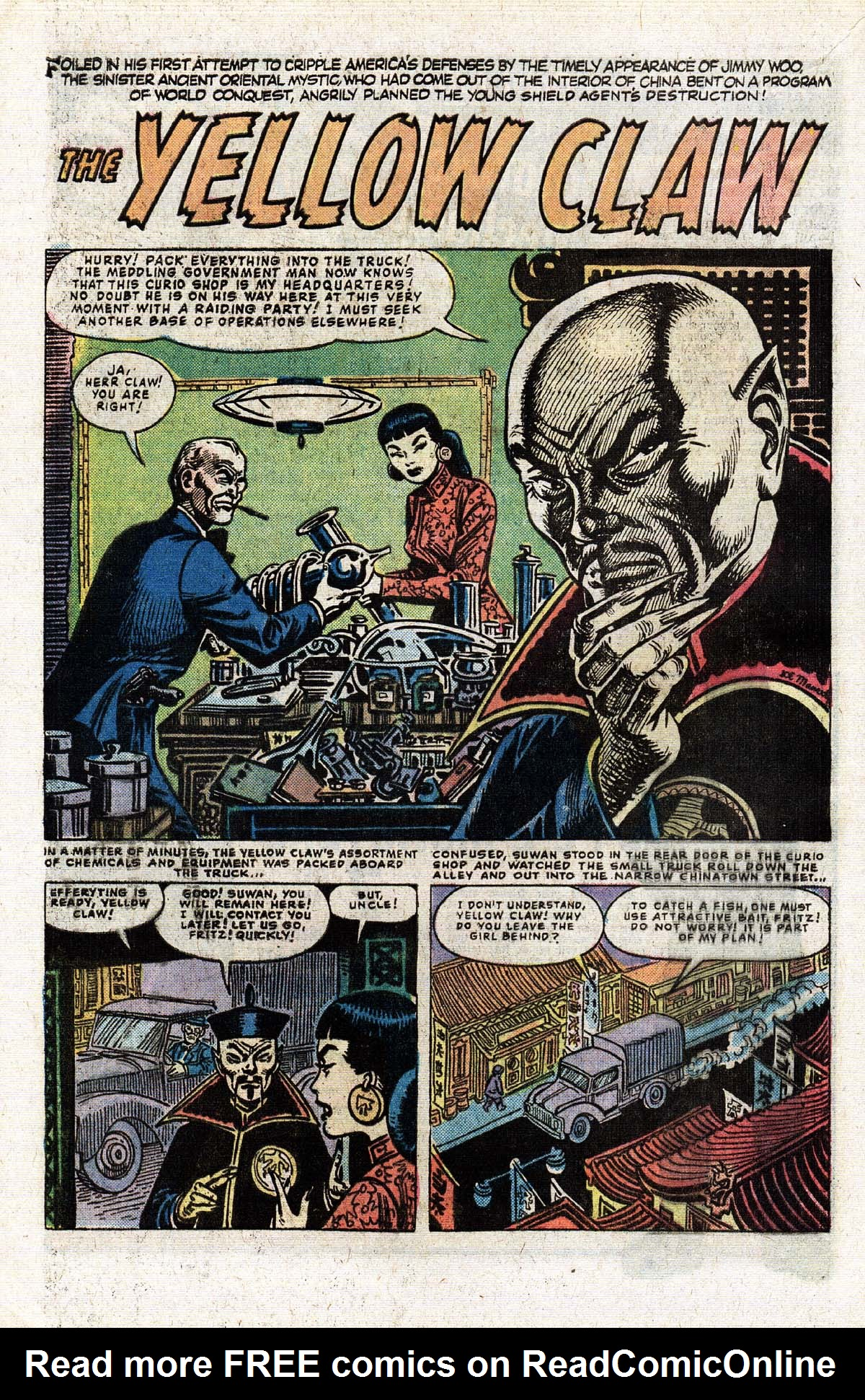 Read online Giant-Size Master of Kung Fu comic -  Issue #2 - 50