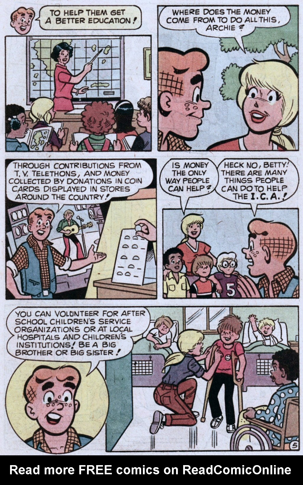 Read online Archie (1960) comic -  Issue #283 - 7