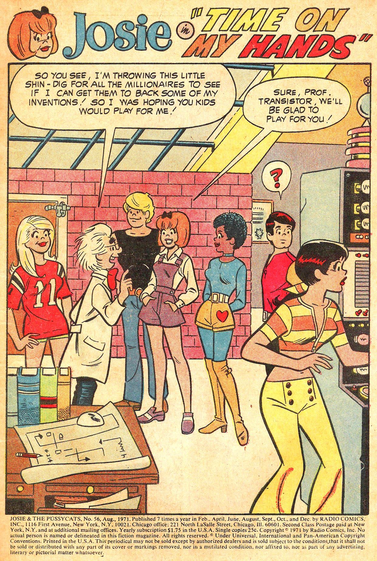 Read online She's Josie comic -  Issue #56 - 3